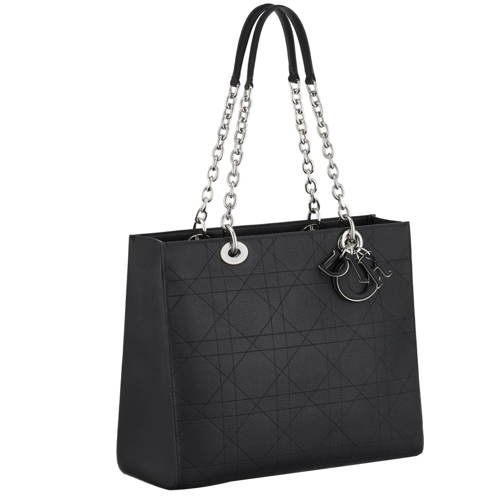 Christian Dior Handbags Handbags Leather Black ref.59947 - Joli Closet e05068385e