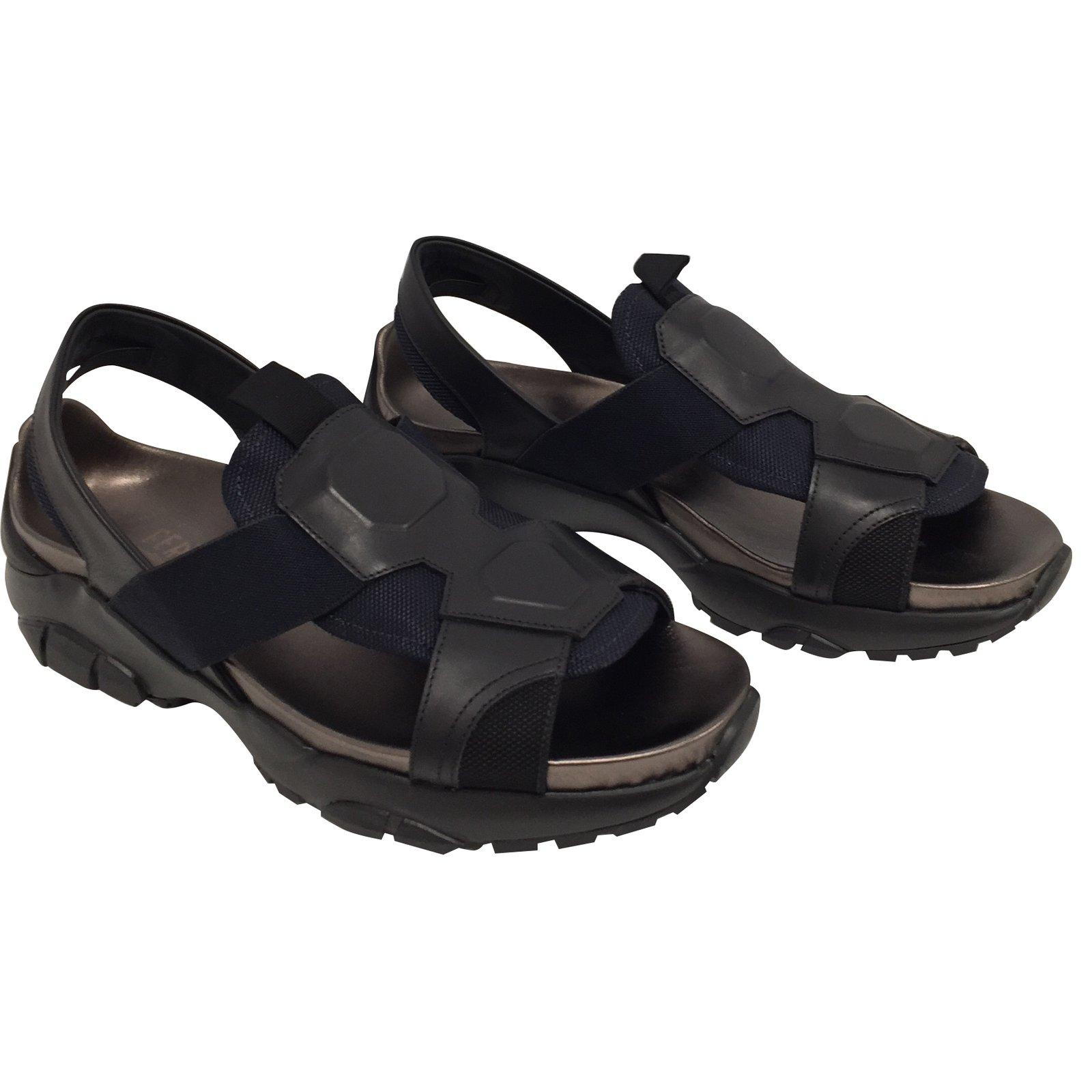5ea032d41081 Salvatore Ferragamo Men Sandals Men Sandals Leather Multiple colors  ref.60155