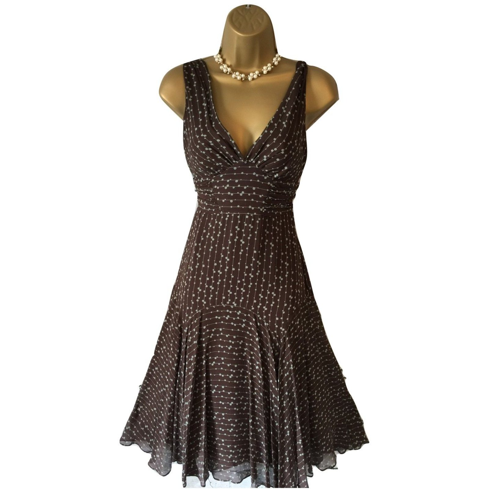 a6ad23c5092 Ted Baker Dresses Dresses Silk Brown
