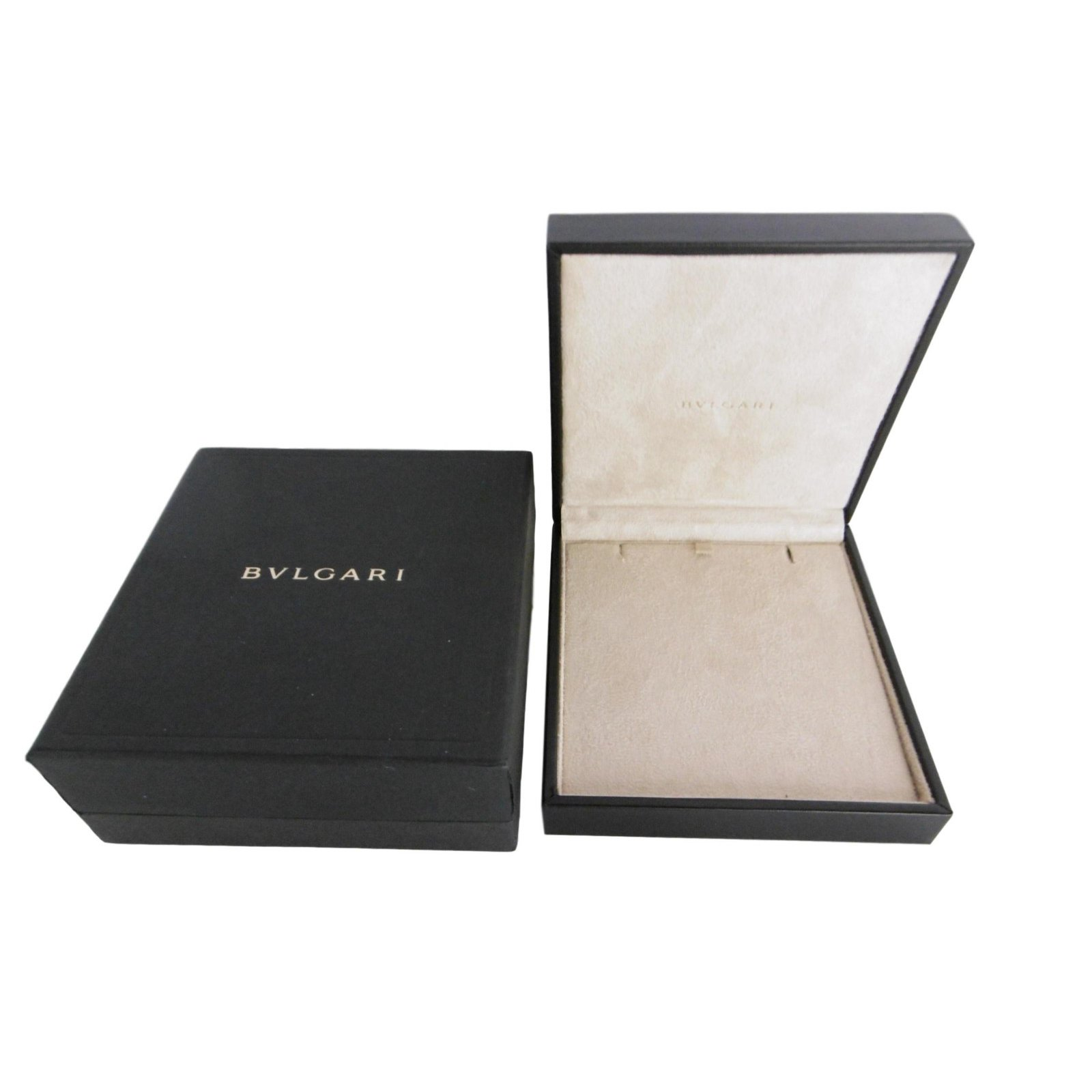 Bulgari Bulgari Necklace Jewelry Box Inner Box and Outer Box Misc