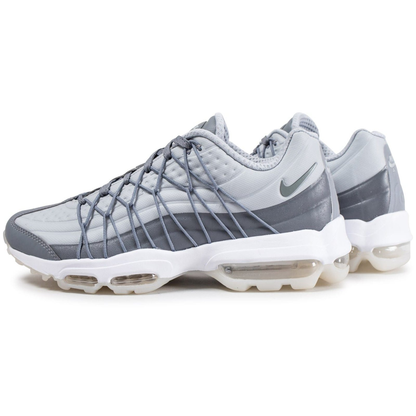 sports shoes 4ec66 9e625 Nike Air max 95 ultra Sneakers Sneakers Rubber Grey ref.61213