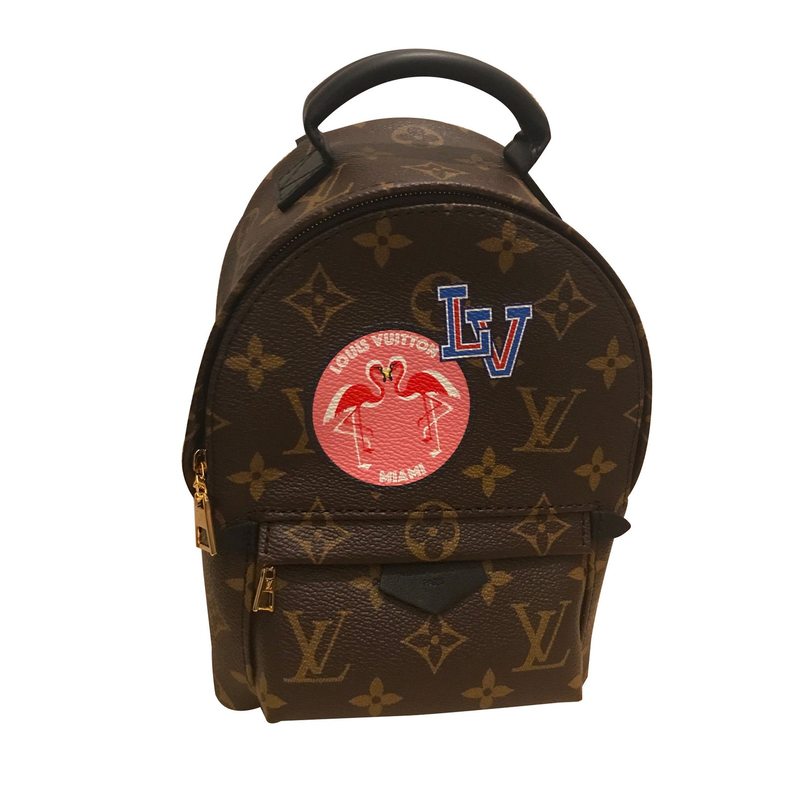 3d53f6b0293f Louis Vuitton Palm Spring Backpacks Backpacks Leather Multiple colors  ref.61329