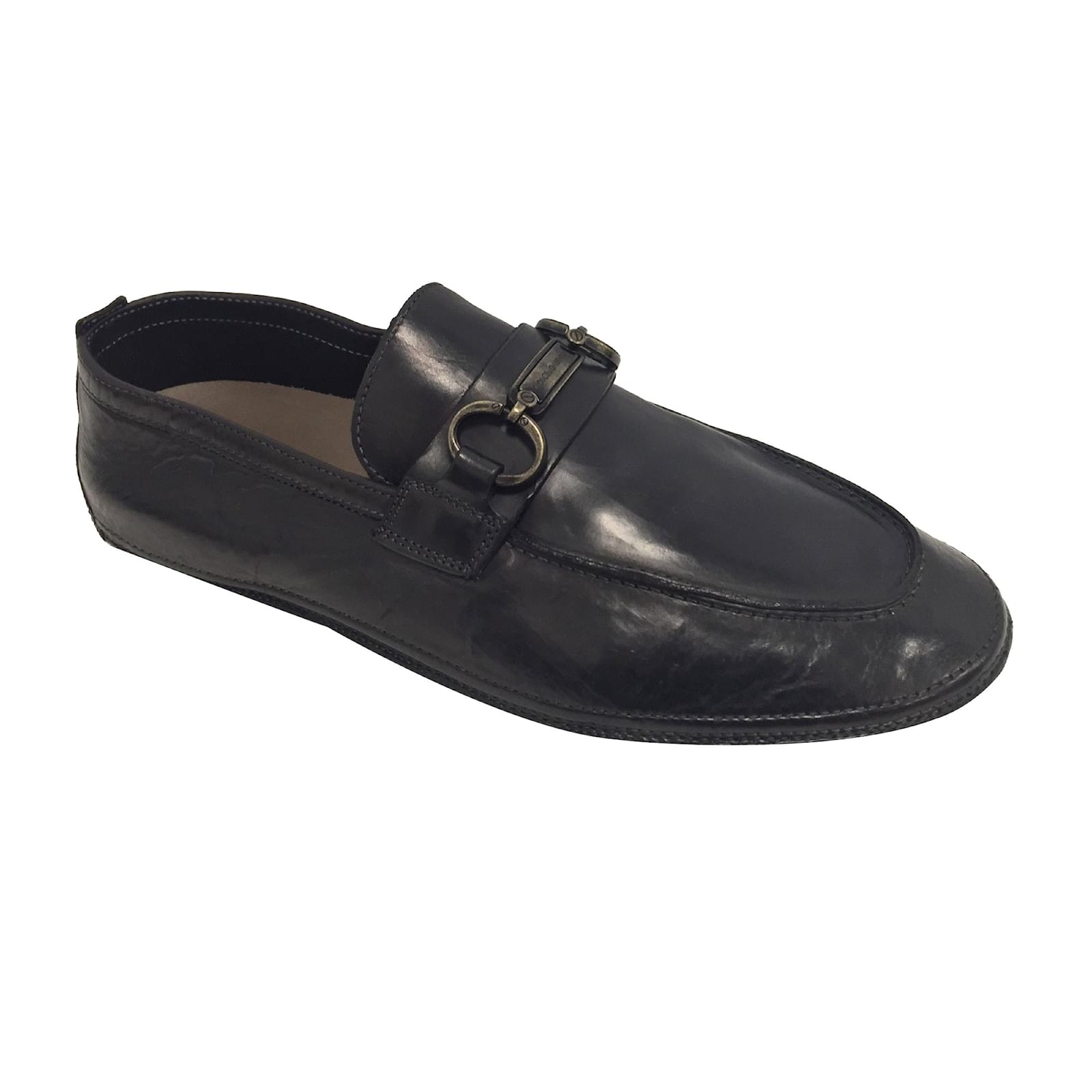 20368367423 Dolce   Gabbana Loafers Slip ons Loafers Slip ons Leather Black ref.61351