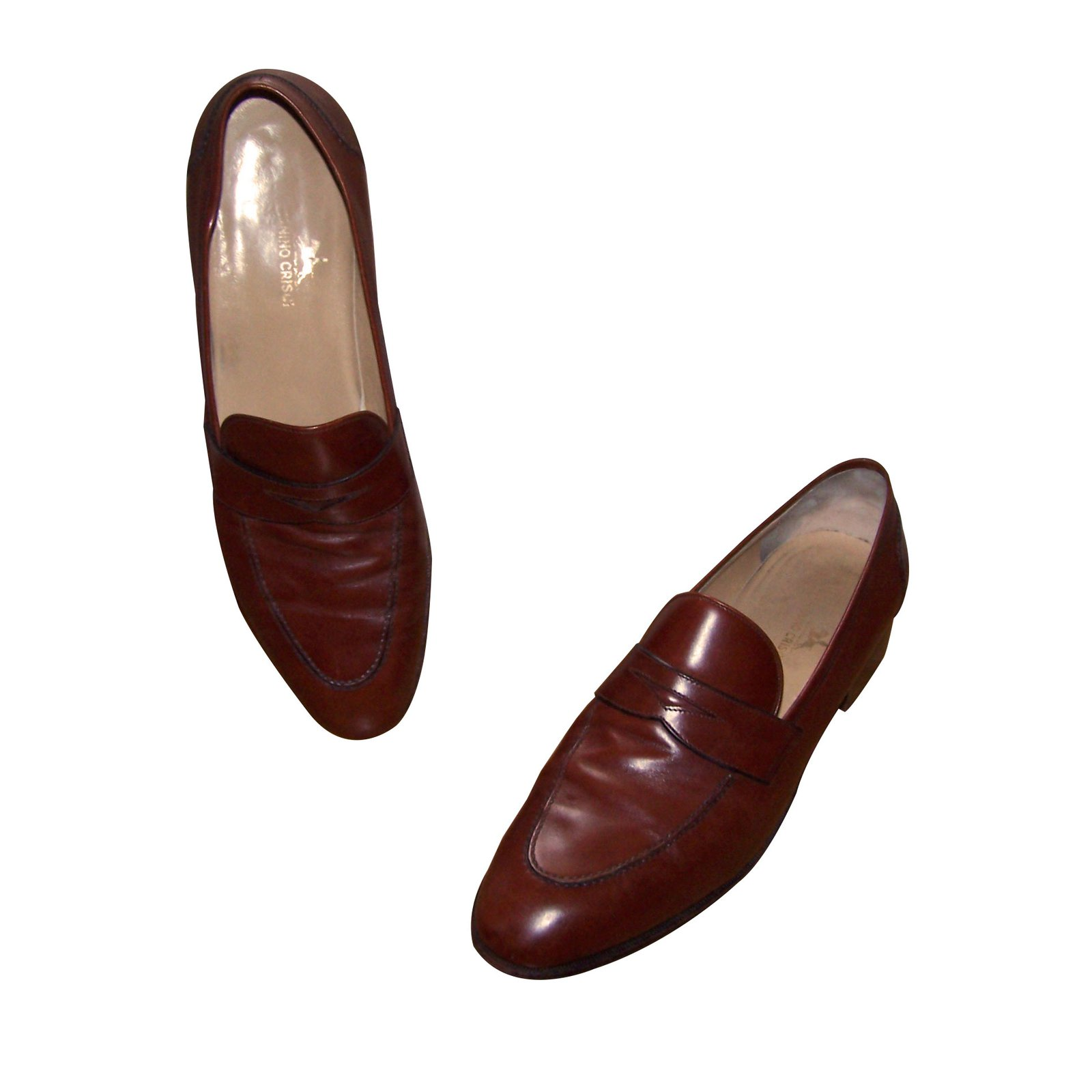 Tanino Crisci Loafers Slip ons Loafers Slip ons Leather Cognac ref.61856