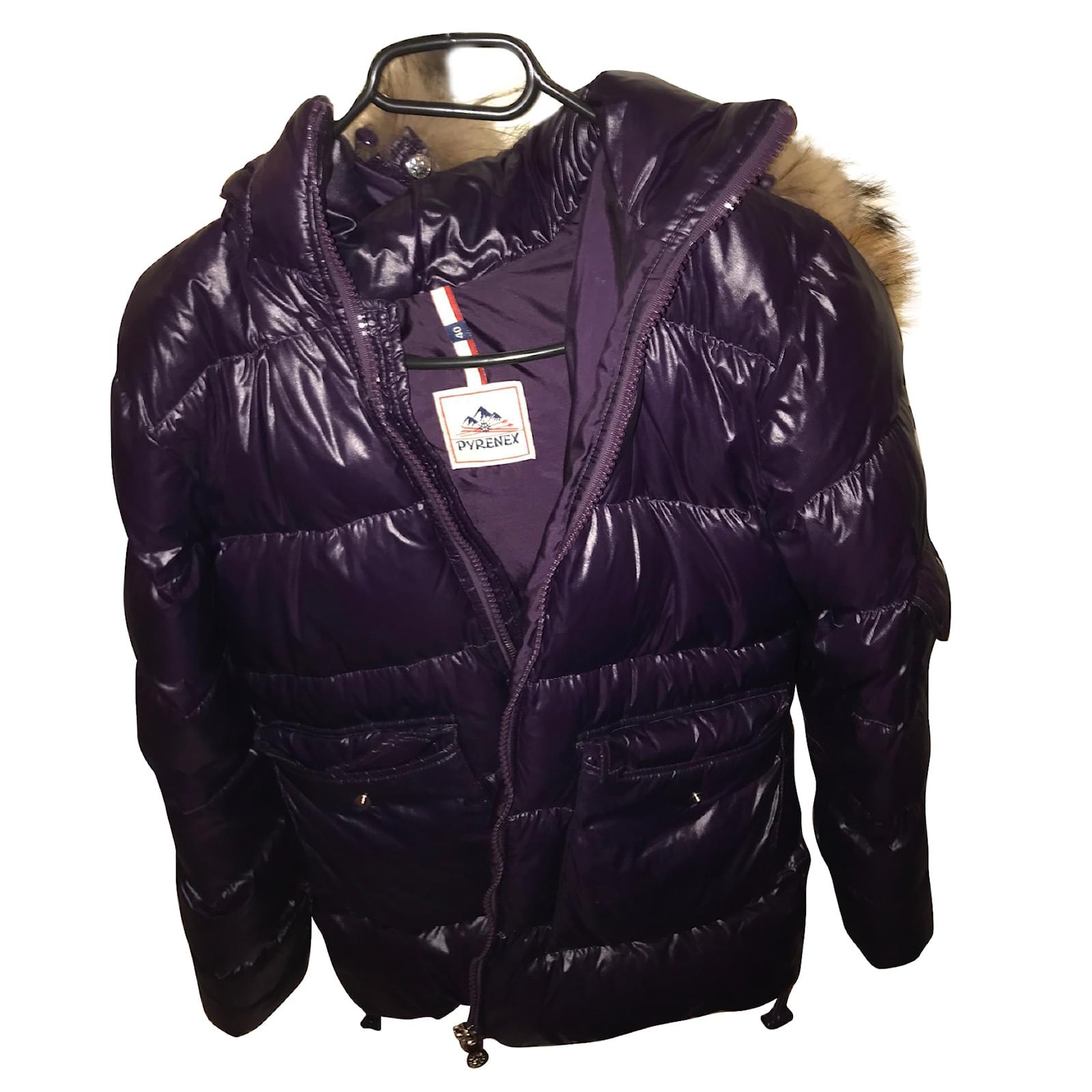 62620 Manteaux Pyrenex Closet Violet Ref Joli Autre rZrwU
