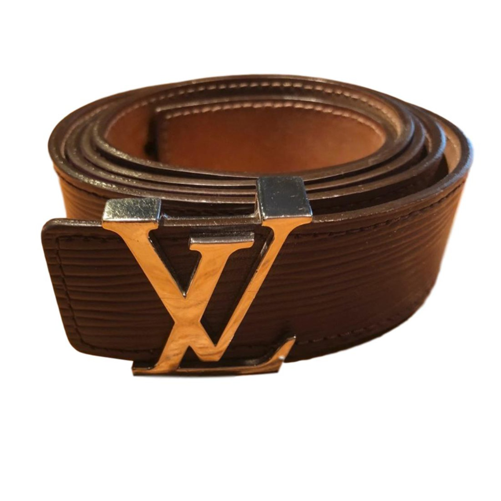 Ceintures Louis Vuitton Ceintures Cuir Violet ref.62792 - Joli Closet afa77f758cd