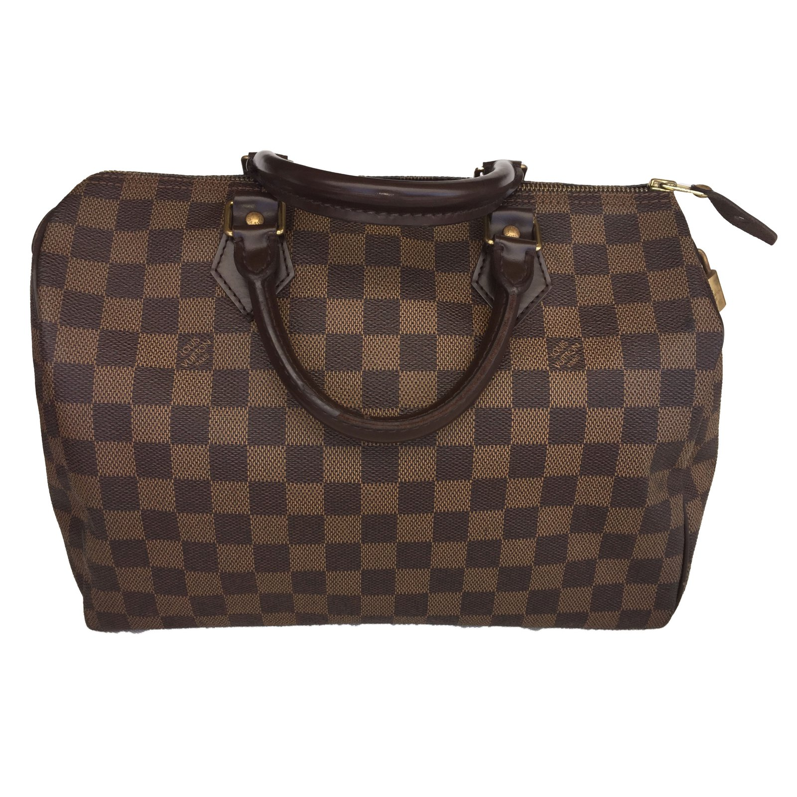 louis vuitton speedy 30 damier eb232ne handbags leather