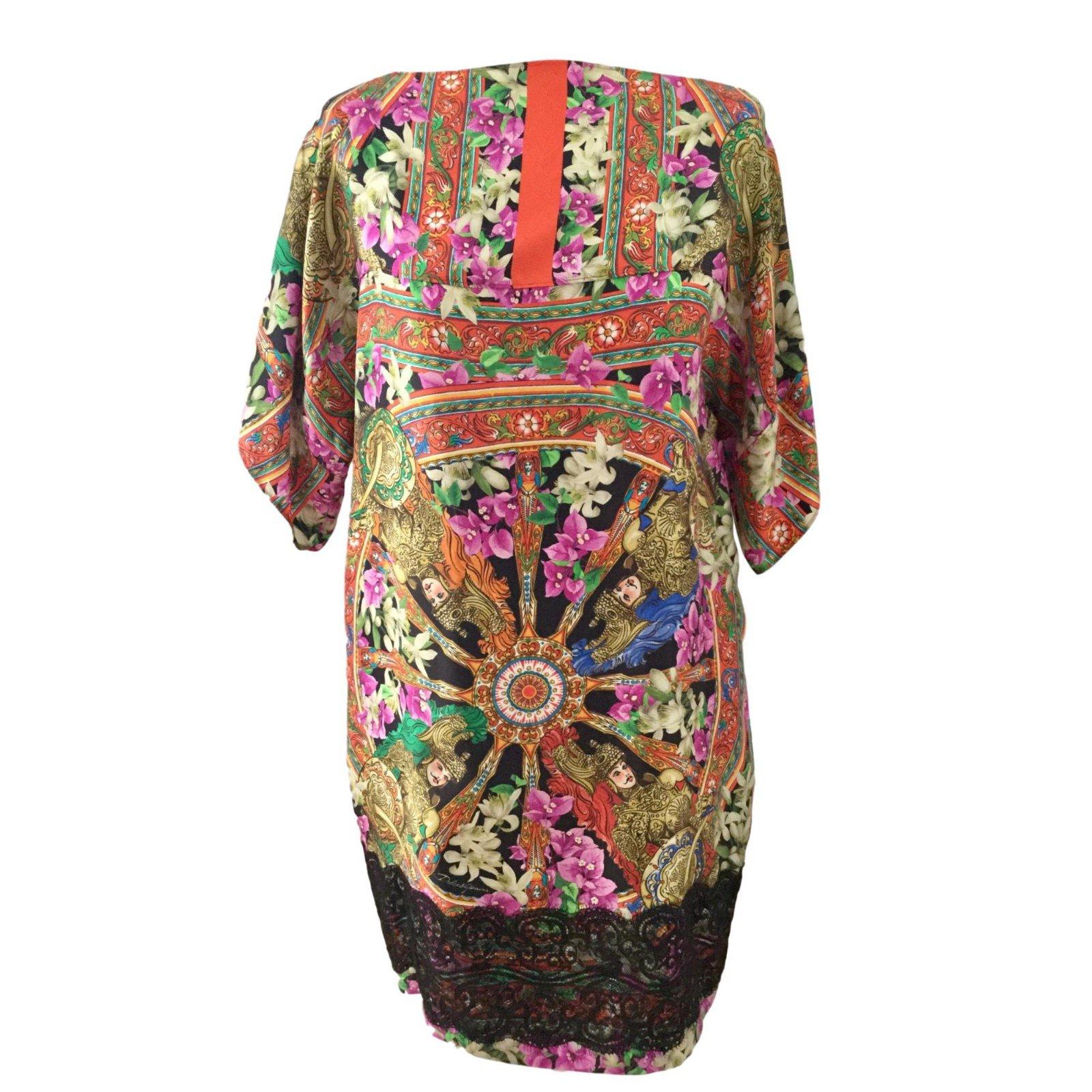 64b20e9f Dolce & Gabbana Dresses Dresses Silk Multiple colors ref.62870 ...
