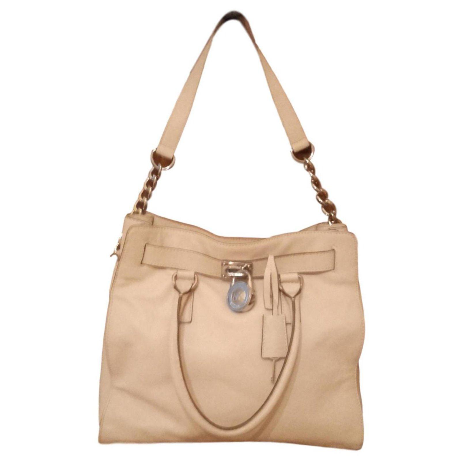 f86f844659be Michael Kors Tan Soft Leather Handbag - Foto Handbag All Collections ...
