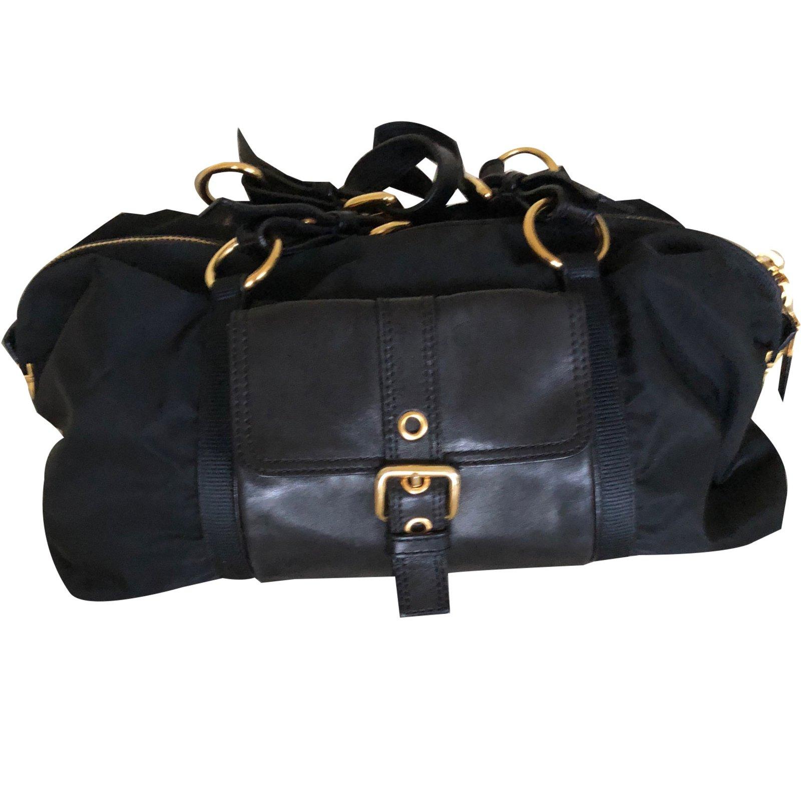020aec5db5c7ff ... handbag black 0327d fab20; inexpensive prada handbags handbags nylon  blackother ref.64193 709b4 d71fe