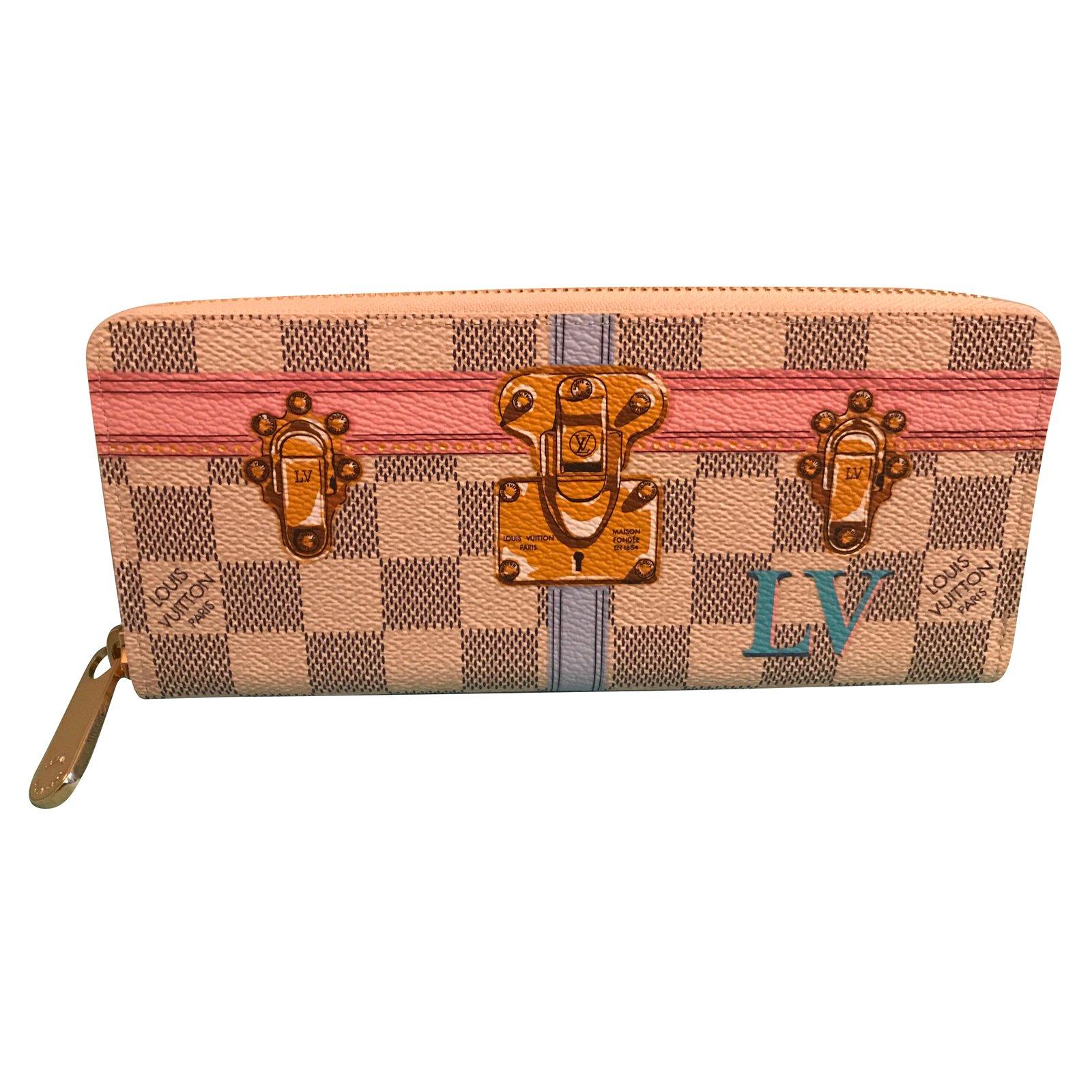 d2fb91ba76c4 Louis Vuitton Clemence Wallets Leather Multiple colors ref.64455 ...