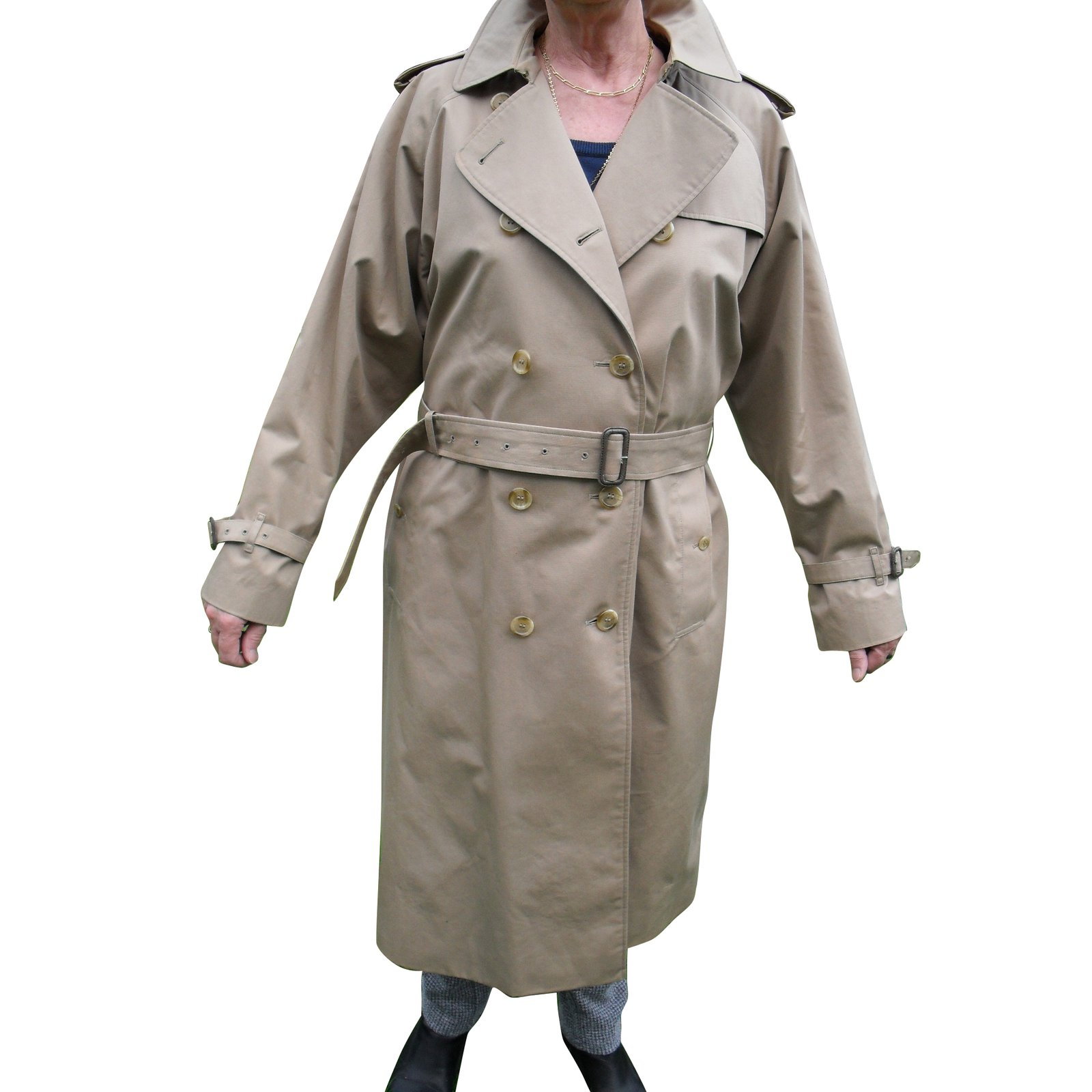 Burberry vintage Burberry's Trench coats Cotton Beige ref
