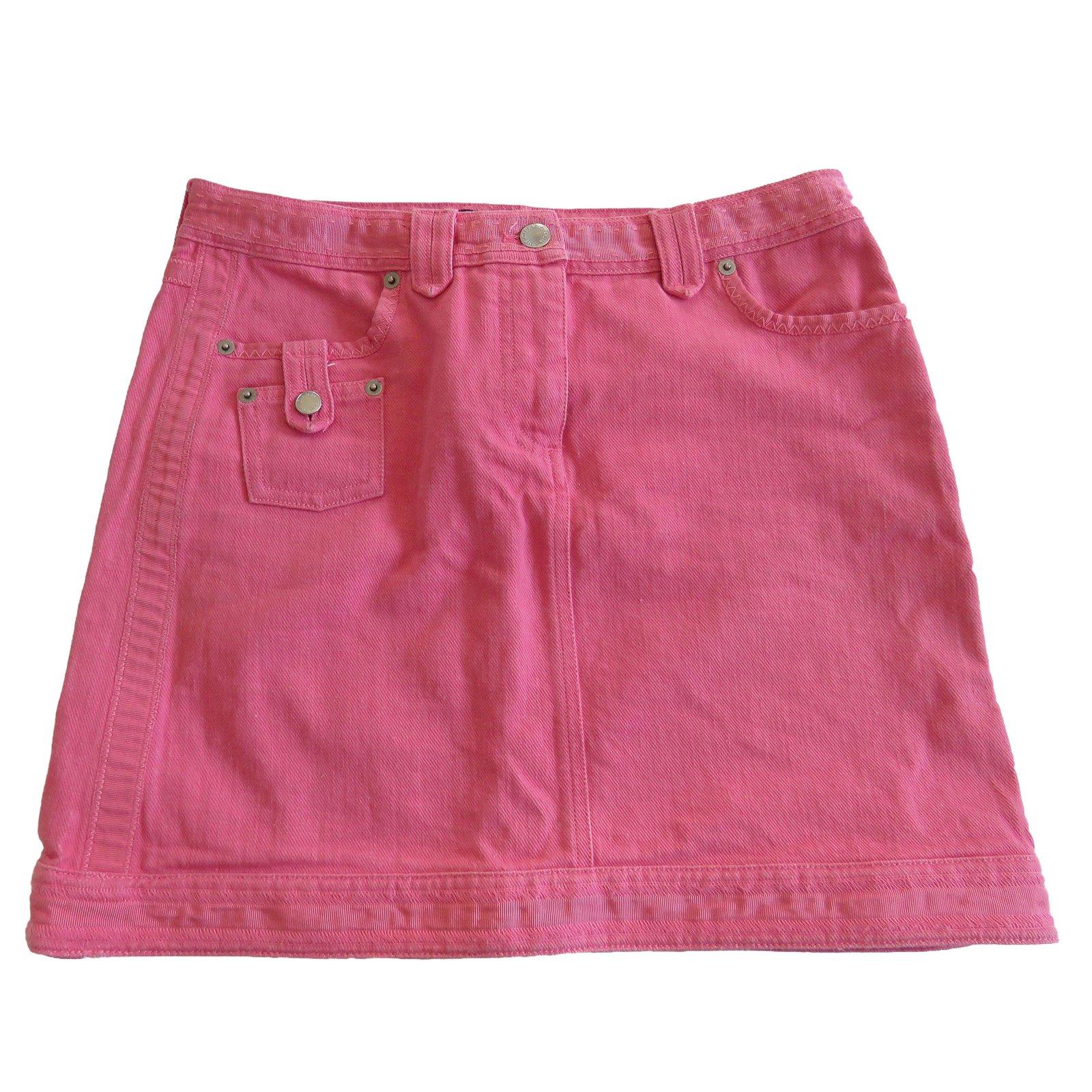 jupes louis vuitton mini jupe coton rose joli. Black Bedroom Furniture Sets. Home Design Ideas