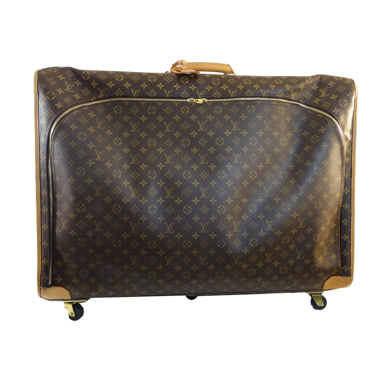 Louis Vuitton Travel Bag Travel Bag Leather Brown Other Ref 65061
