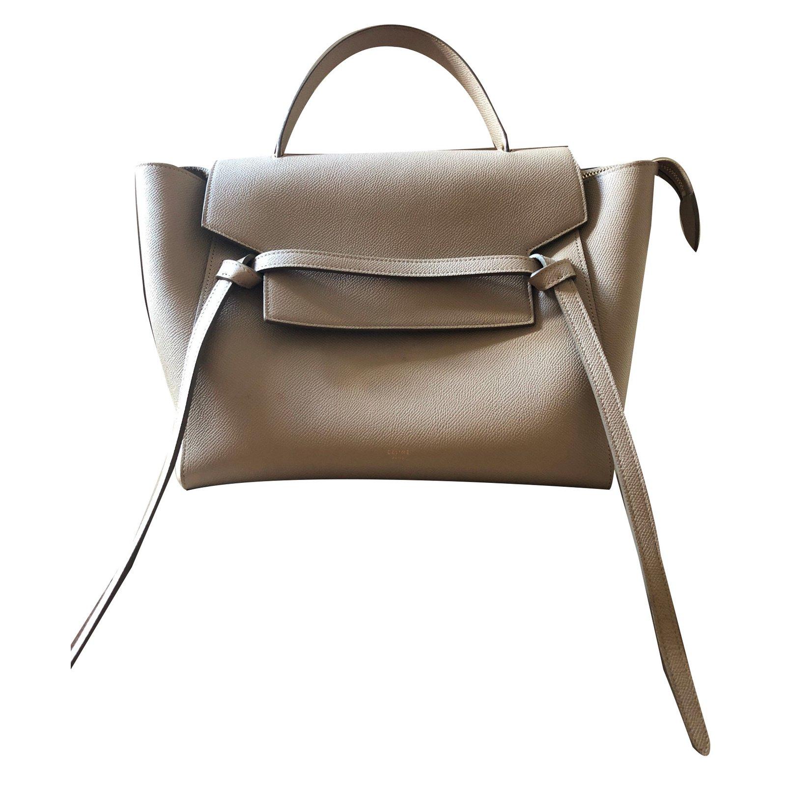 07081c6fcab4 céline mini belt handbags leather red ref.57177 uk availability 65080 50000