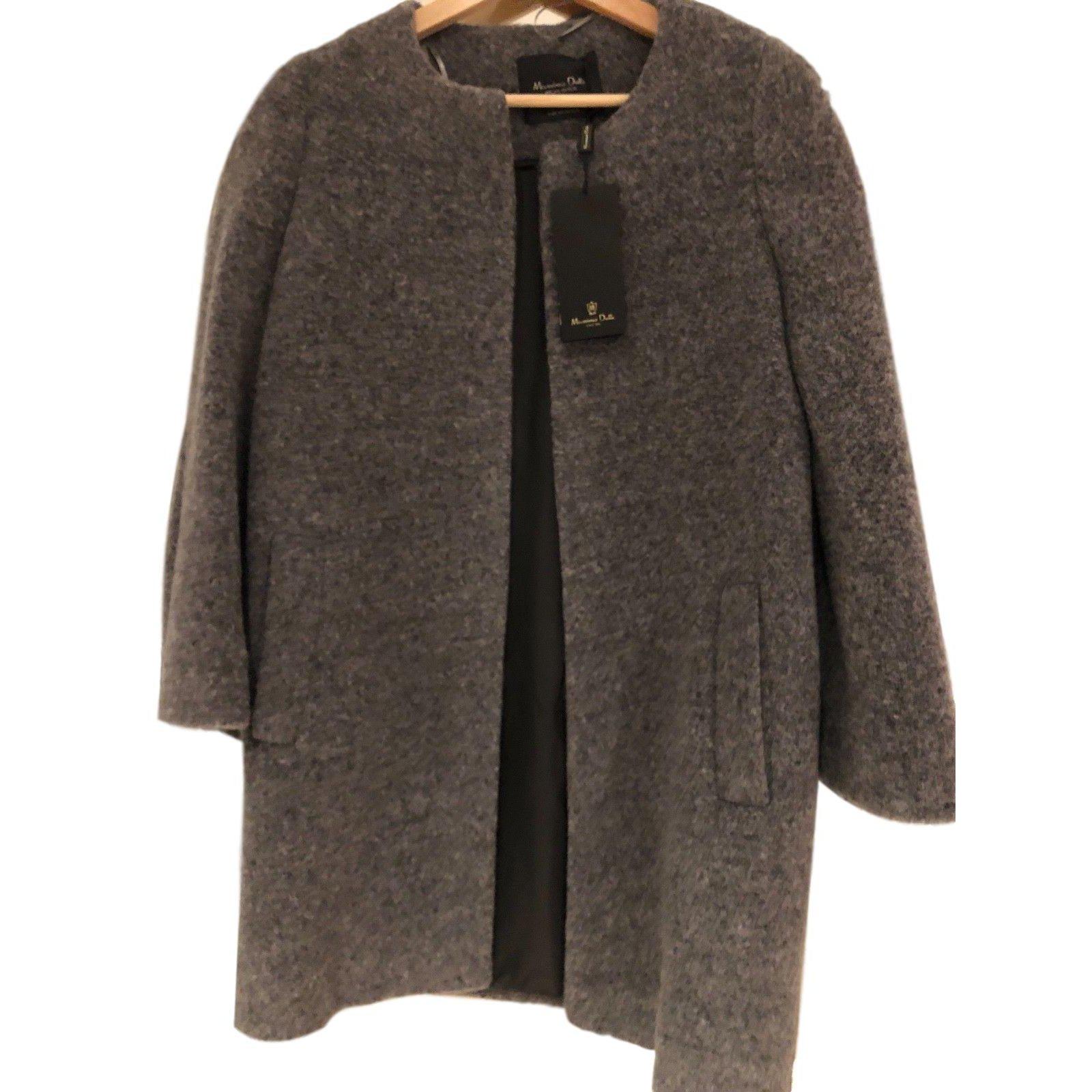 manteau femme massimo dutti 75 laine