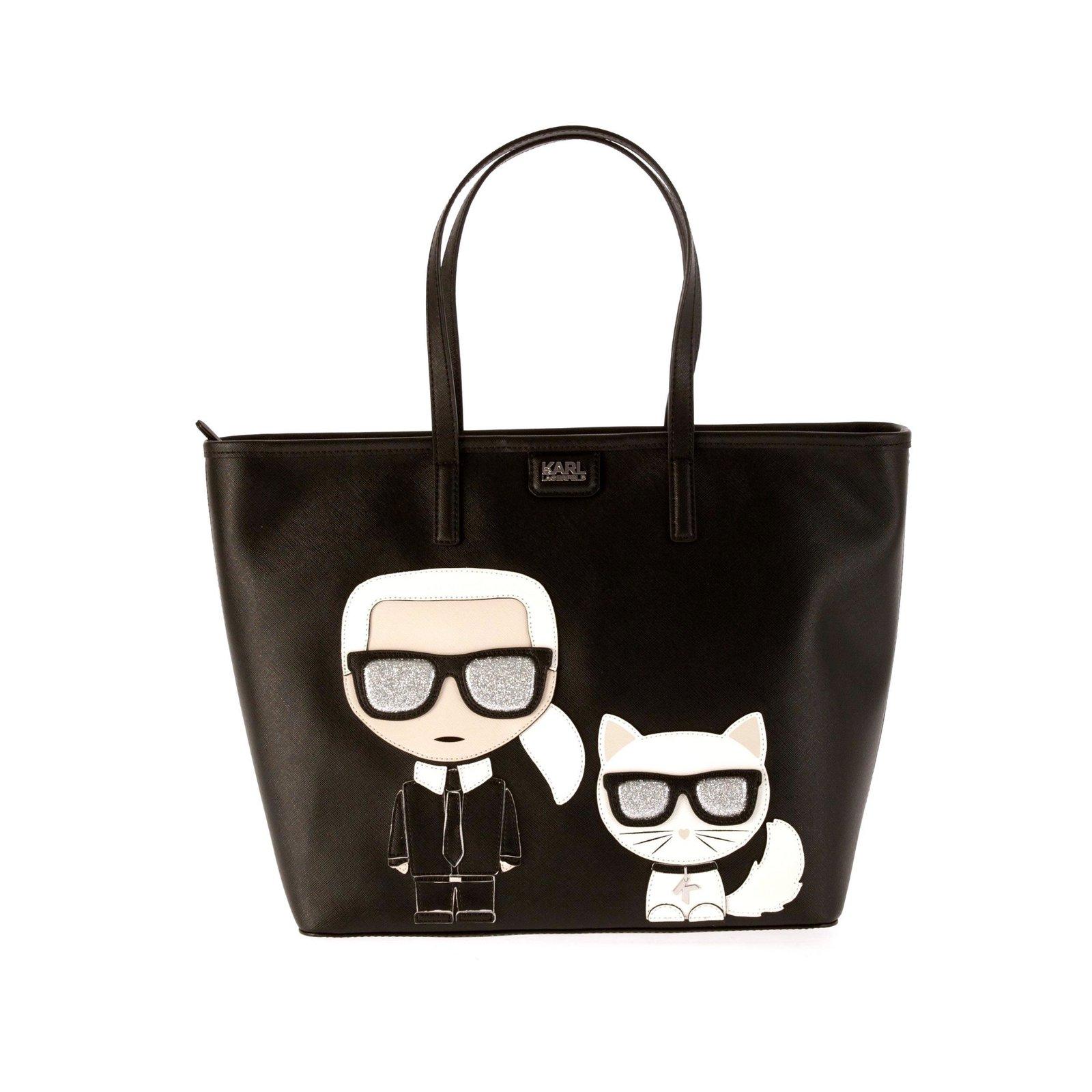 Karl Lagerfeld Handbag New Handbags Synthetic Black Ref 65514