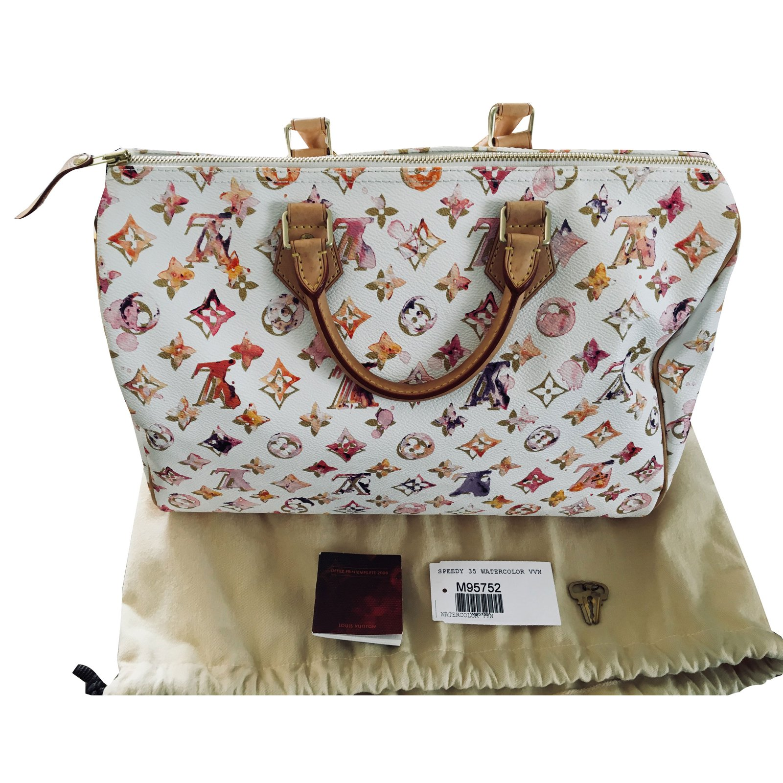 9640a41a71bf Louis Vuitton SPEEDY Handbags Leather
