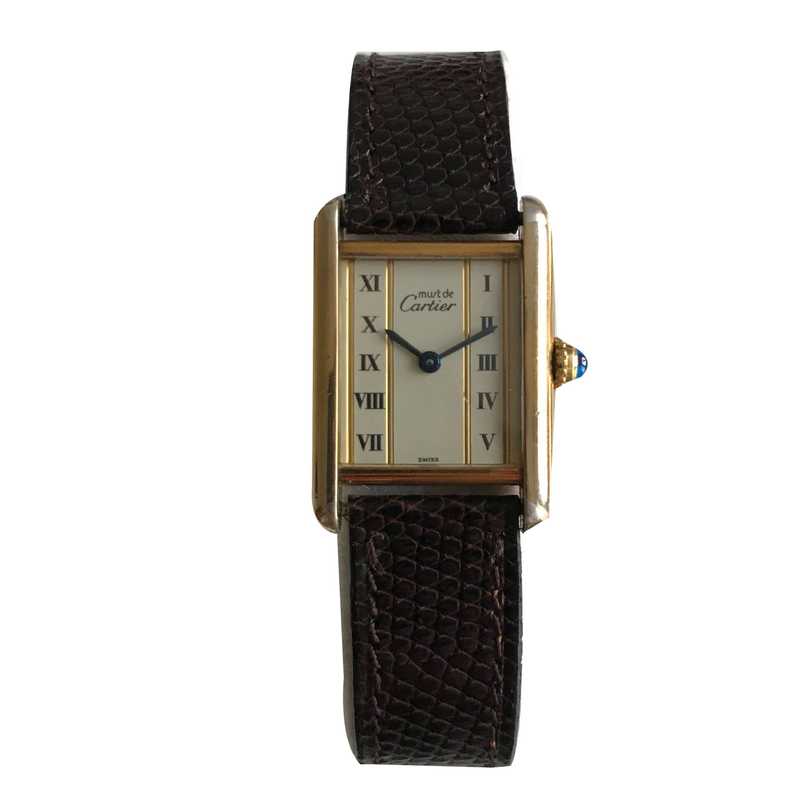 watch luxury watches solo model p large tank cartier