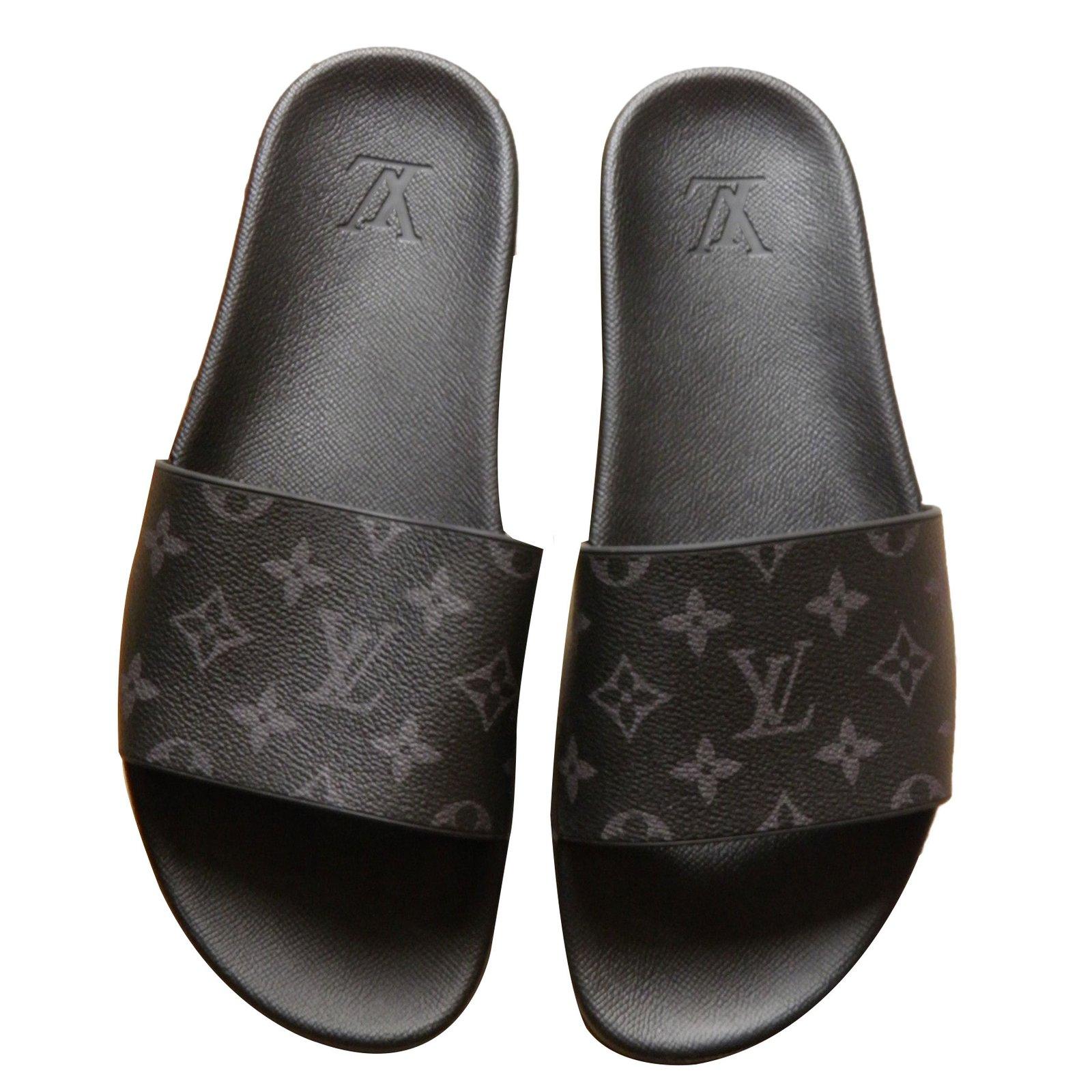 louis vuitton for men crossbody louis vuitton men sandals rubber black ref65879 joli