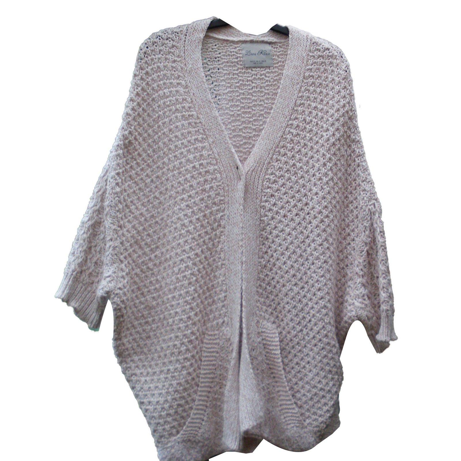 c2b16ca8 Zara Knitwear Knitwear Cotton Beige ref.66031 - Joli Closet