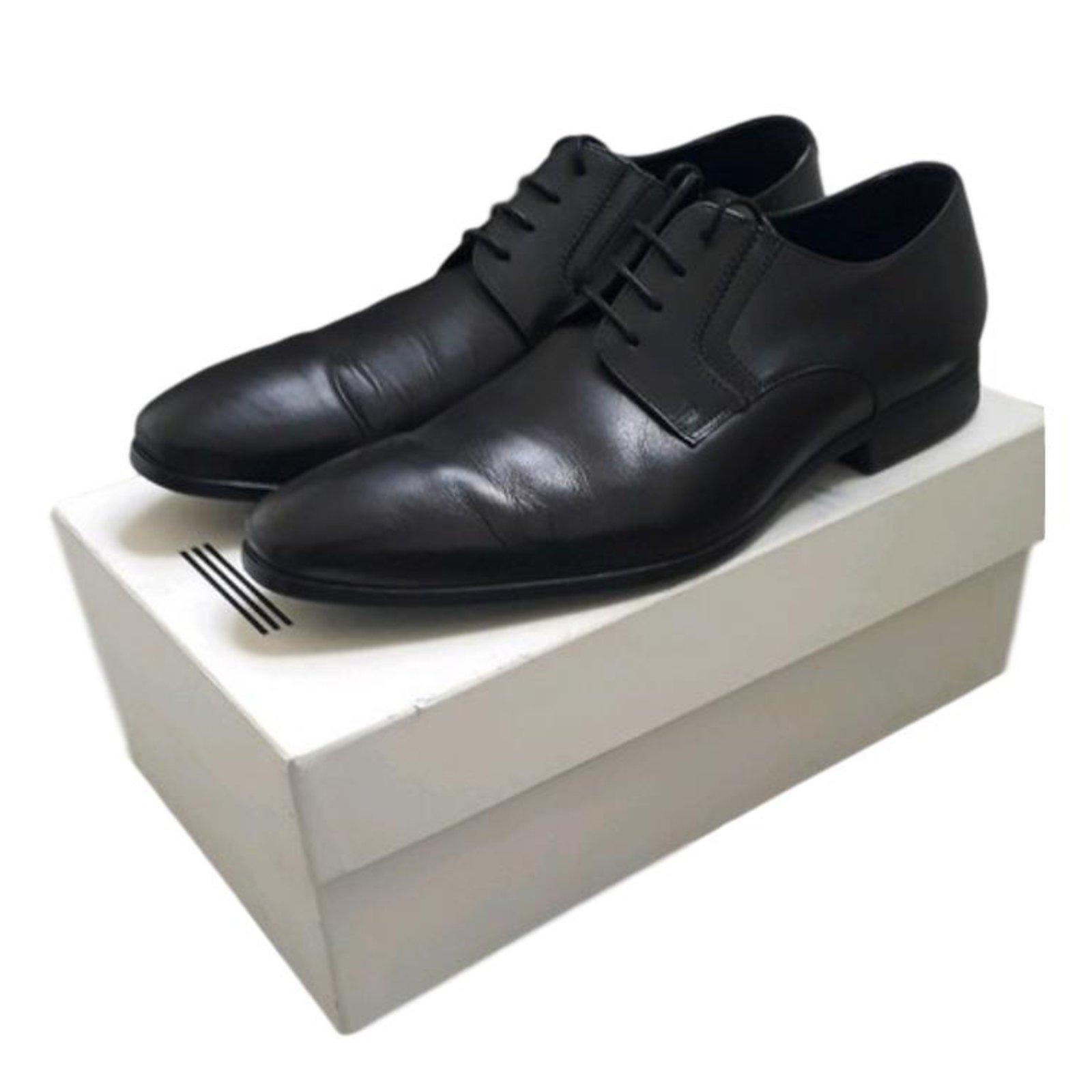 Ref Kenzo 66065 Chaussures Joli Closet Mocassins Homme Noir Cuir X5RSSq