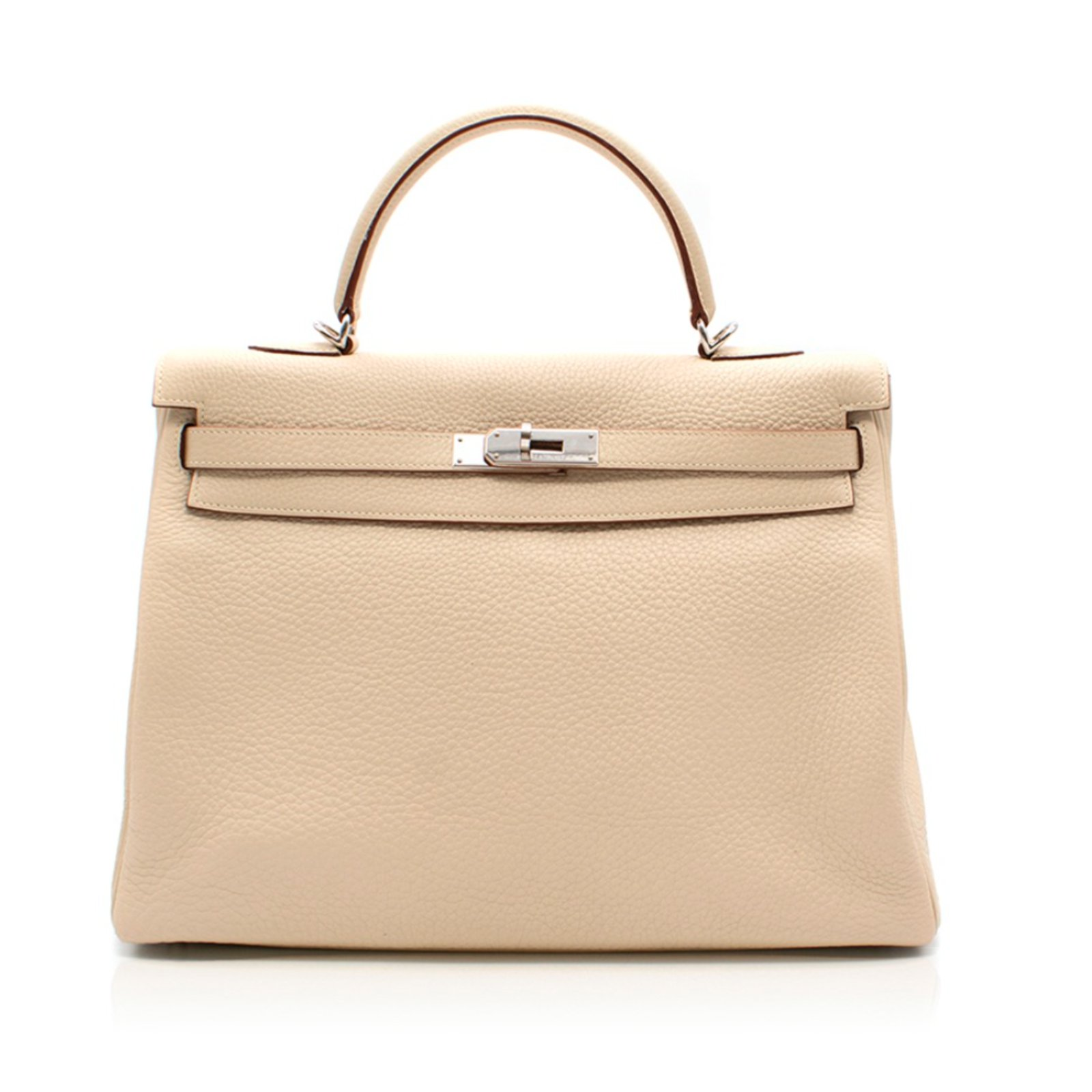 0d92f5cc62 ... new zealand hermès kelly 35 togo parchemin handbags leather beige  ref.66173 5ab83 511bd