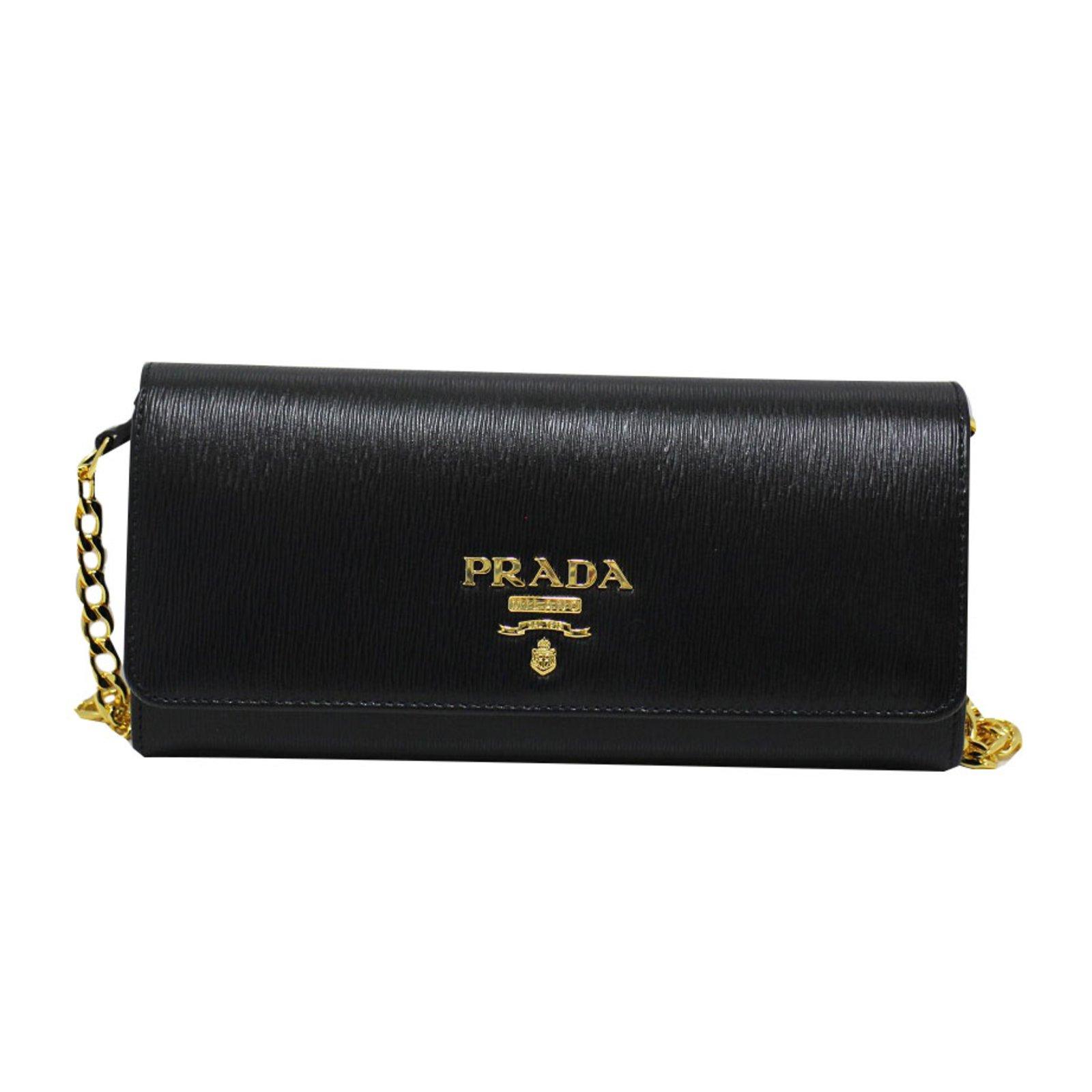 b39223af62 ... discount code for prada prada black leather cross body bag purses  wallets cases leather black ref