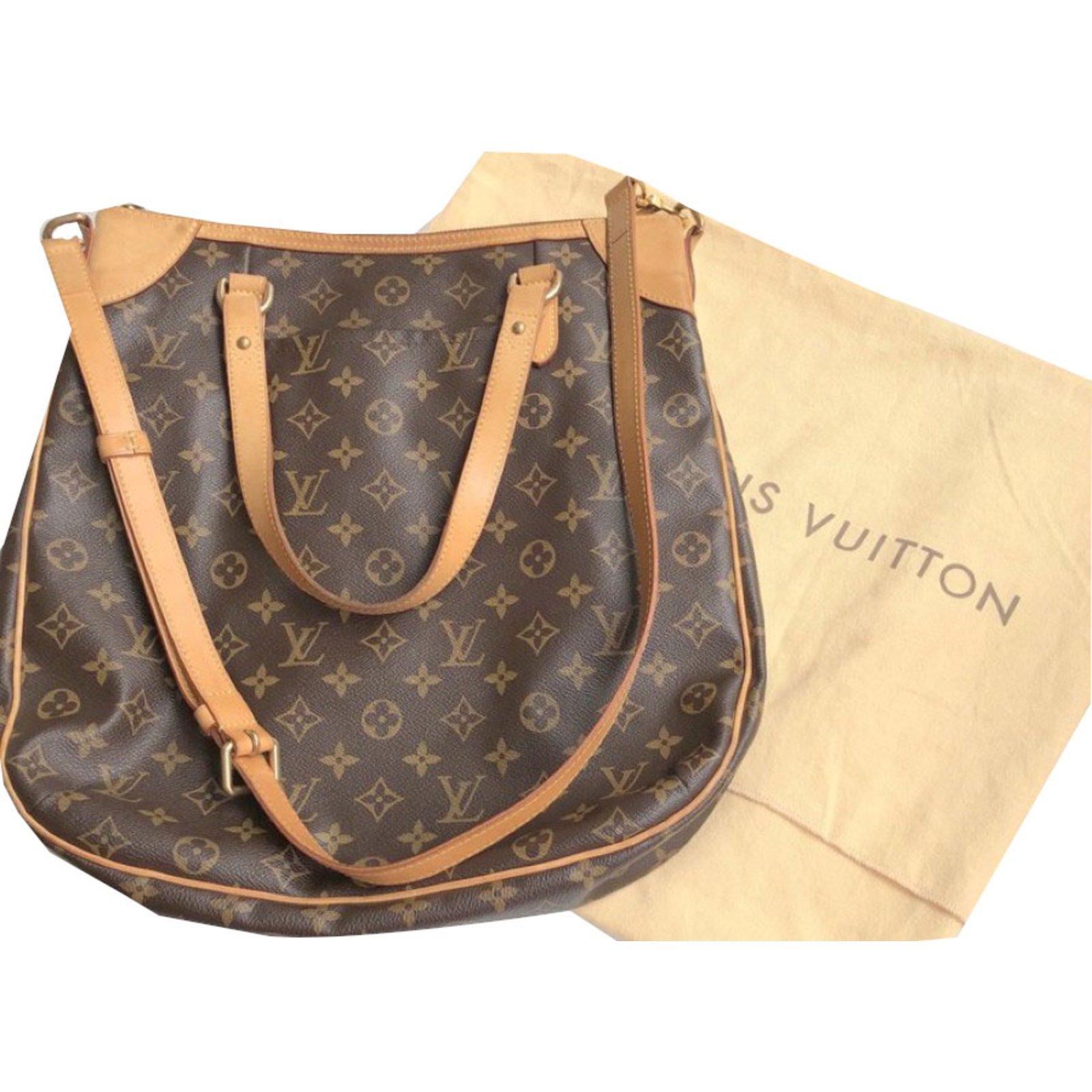 7d53f4068630 Louis Vuitton Odeon Handbags Other Brown ref.67937 - Joli Closet