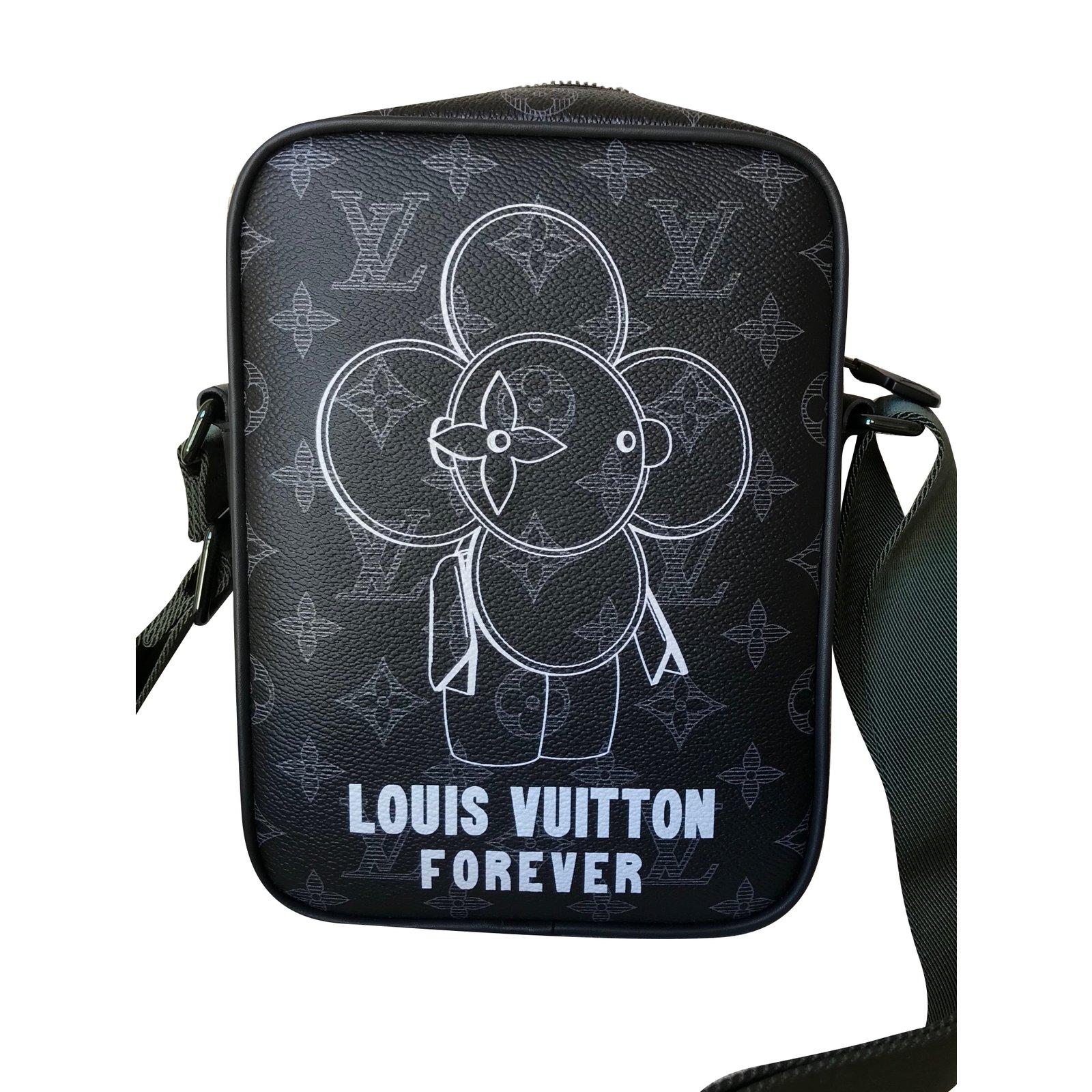 5e8ab164be255 Louis Vuitton Danube PM Vivienne Monogram Éclipse Canvas Messenger Bag Bags  Briefcases Linen Multiple colors ref