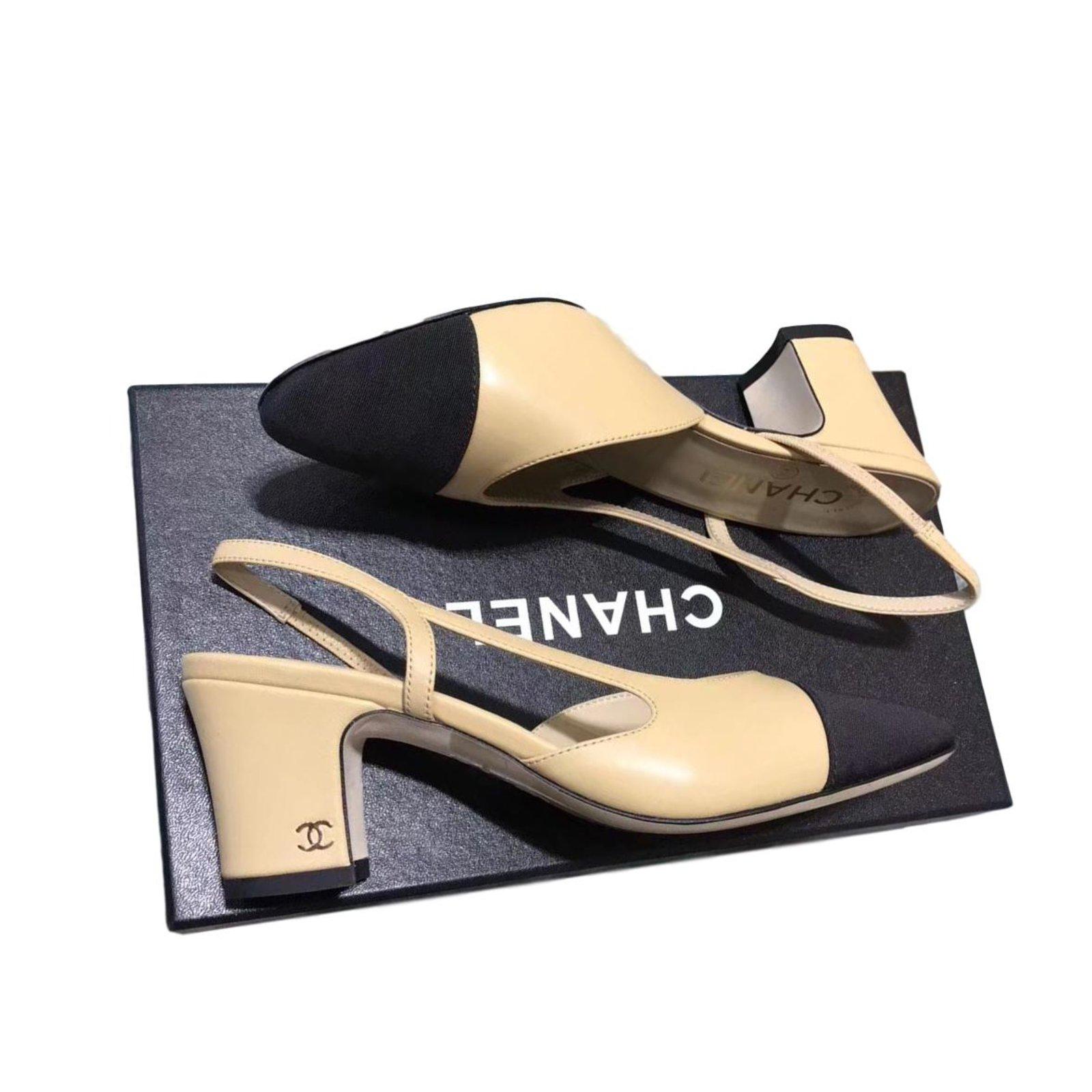 Chanel Slingback heels Heels Lambskin