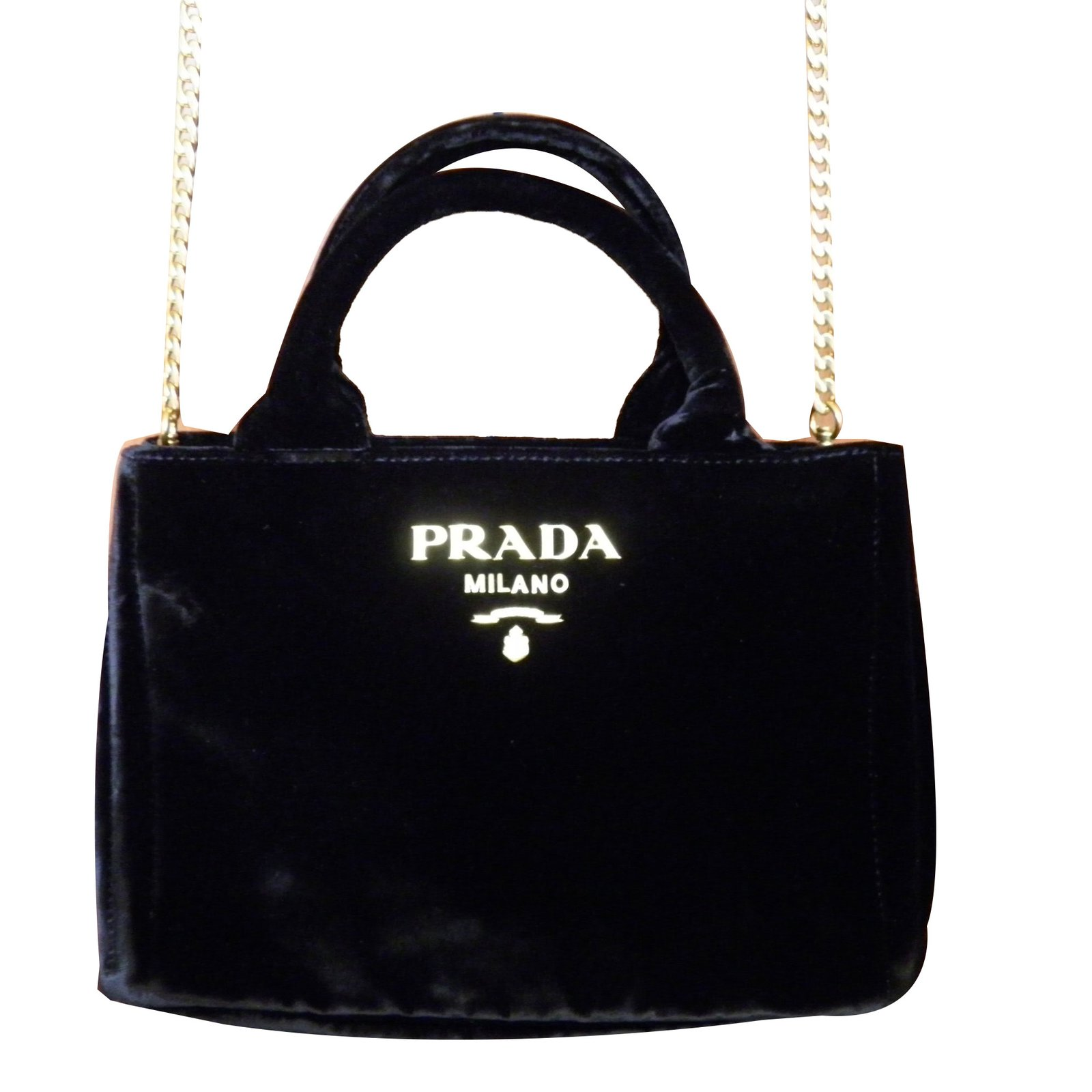 08bc69ce9d91 ... sale prada mini bag handbags velvet black ref.68886 98f74 d8fd3