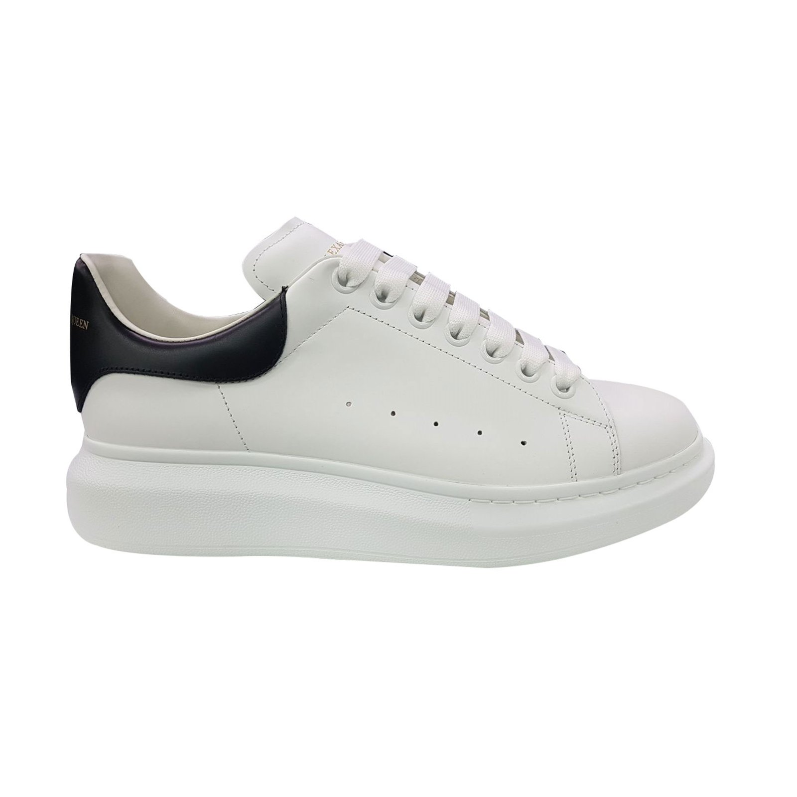 e9ec10783498 Alexander Mcqueen sneakers Sneakers Leather Black,White ref.69012 ...