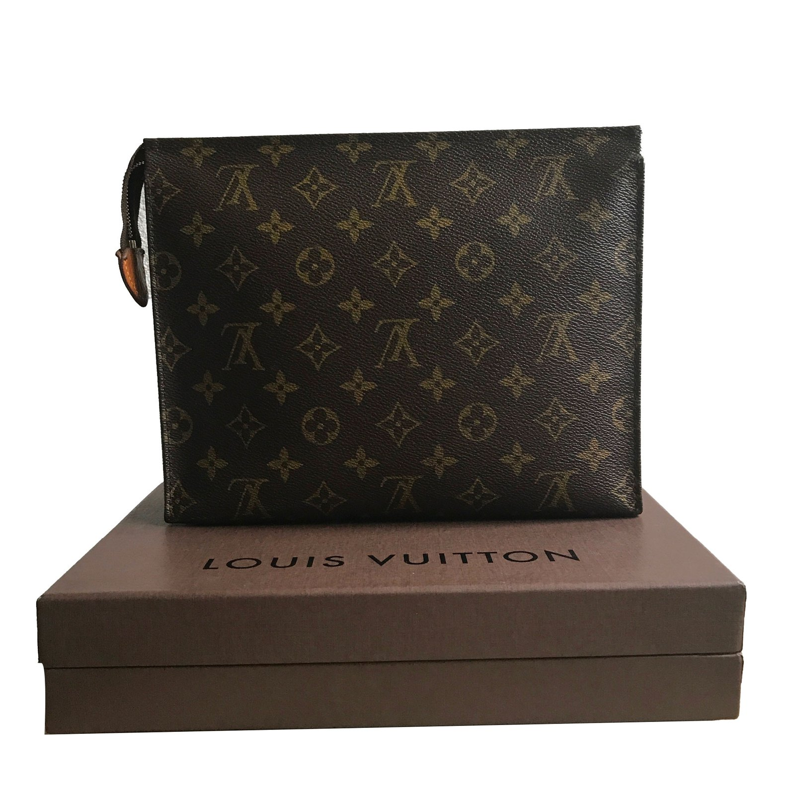 Louis Vuitton Louis Vuitton 26 Clutch Bag Clutch Bags Leather fe5cff7eb44ae