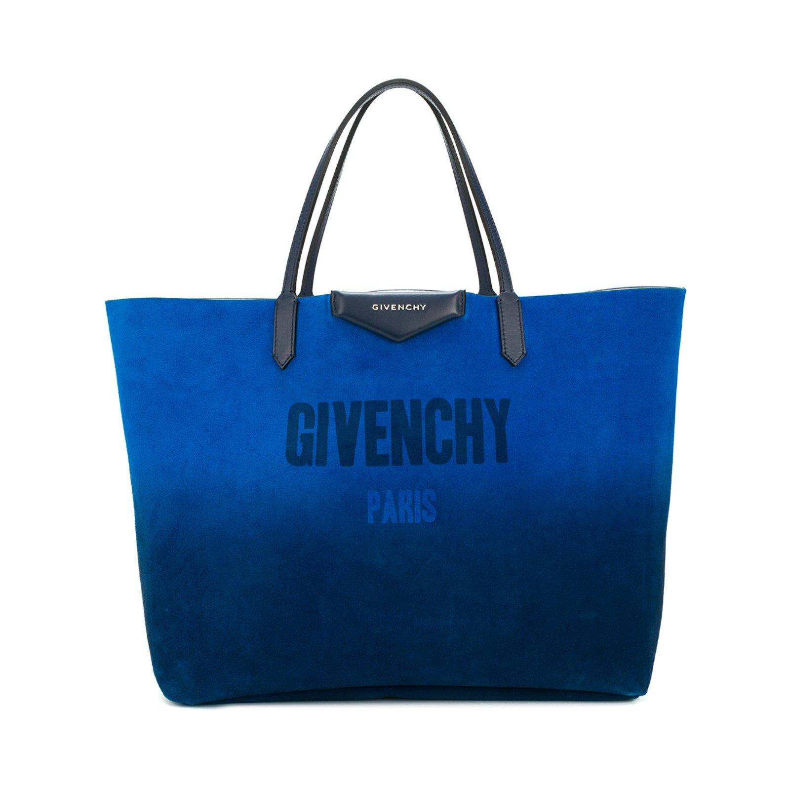 38e8c985dd91 Givenchy Givenchy Antigona Shopping Tote Handbags Leather Silvery ...