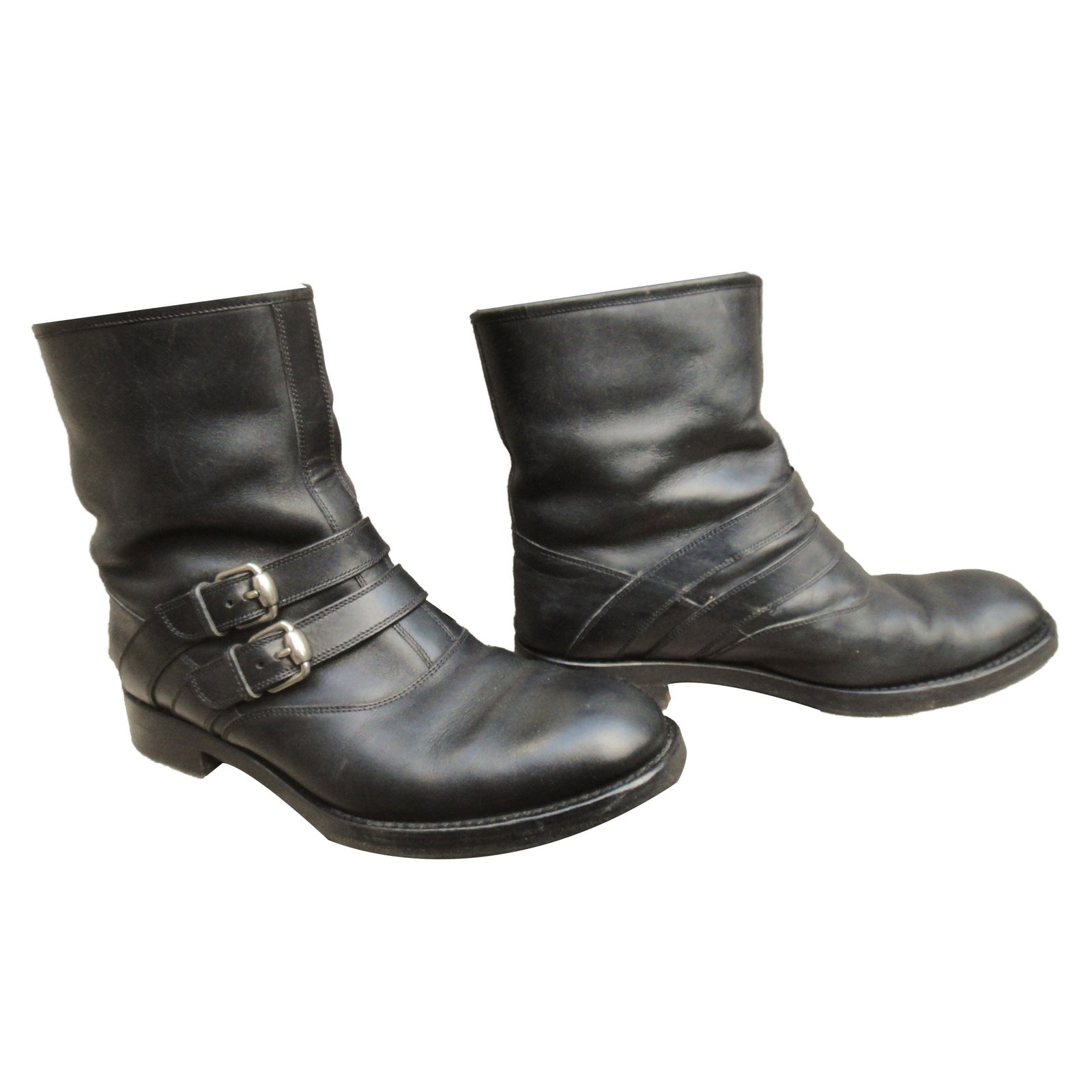 eb6bff35b Gucci Ankle Boots Ankle Boots Leather Black ref.69403 - Joli Closet
