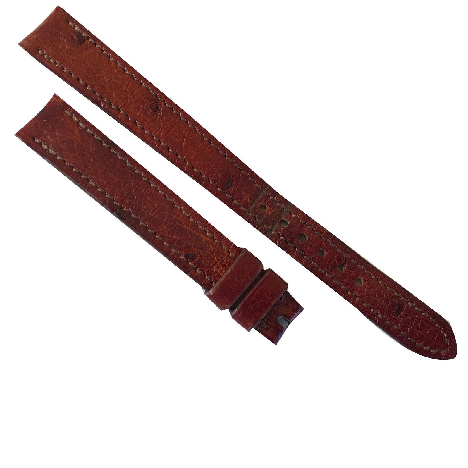 1eaea8f8ddb3 ... store montres hermès bracelet montre cuirs exotiques marron ref.69450  4de83 9c2b8 ...