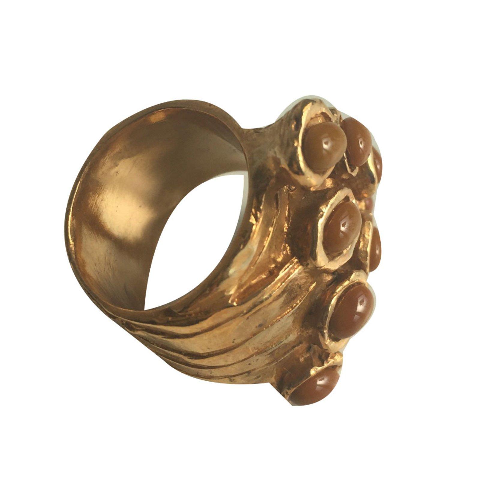 f134ccbd29b9 Yves saint laurent arty rings metal orange ref joli closet jpg 1600x1600  People with ysl arty
