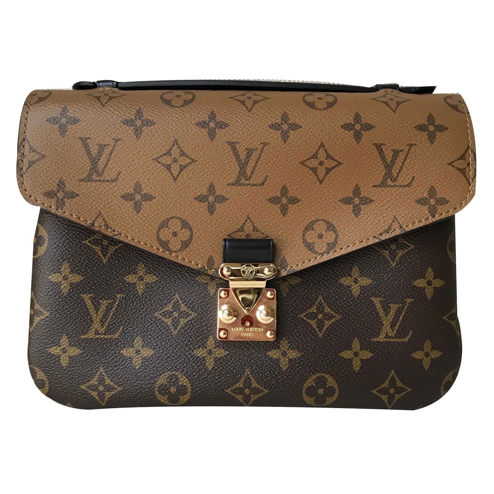 660ccd0f6133 Louis Vuitton Metis Monogram Handbags Linen Brown ref.69584 - Joli ...