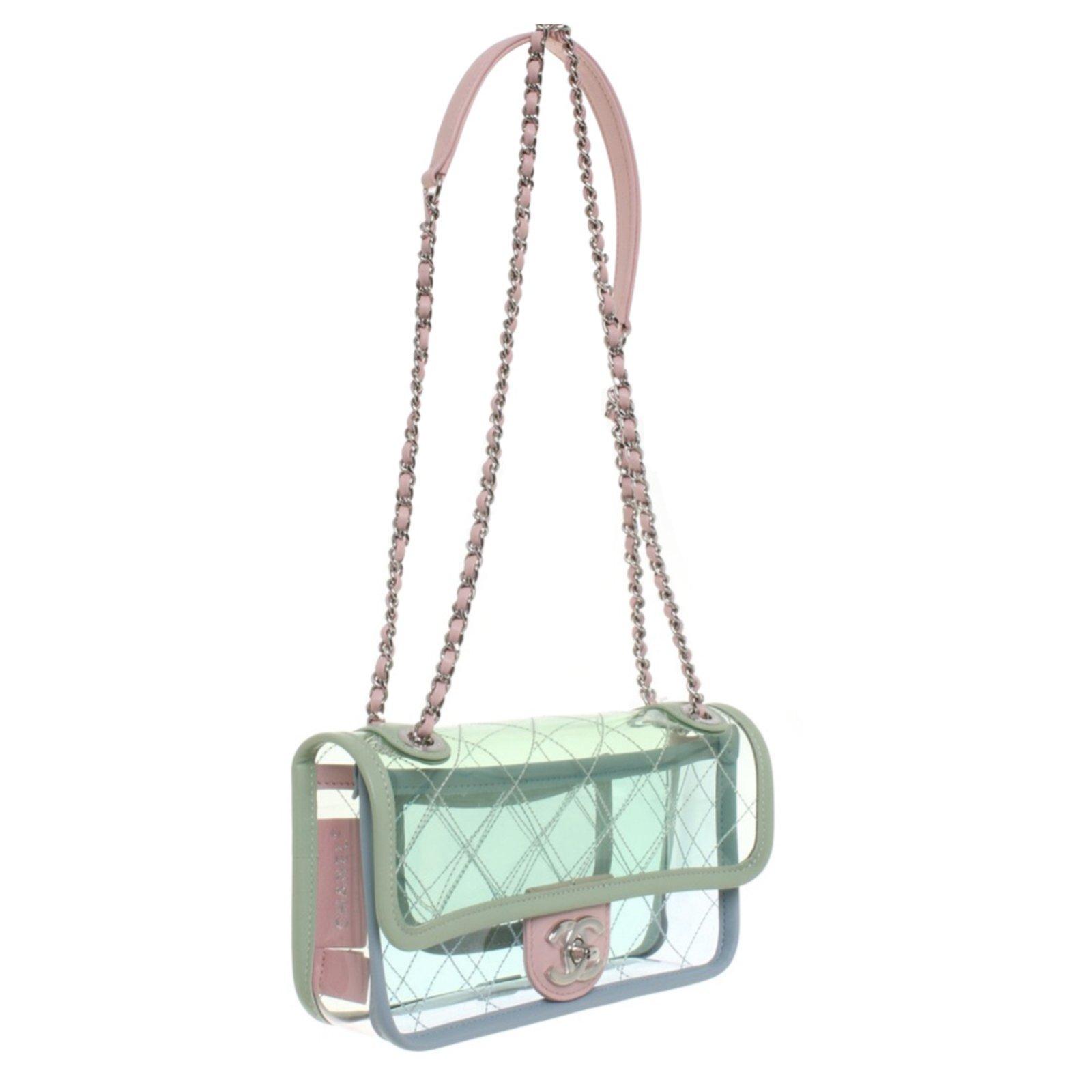 1896a7b9d70c6f Chanel Handbag Handbags Plastic Multiple colors ref.70883 - Joli Closet