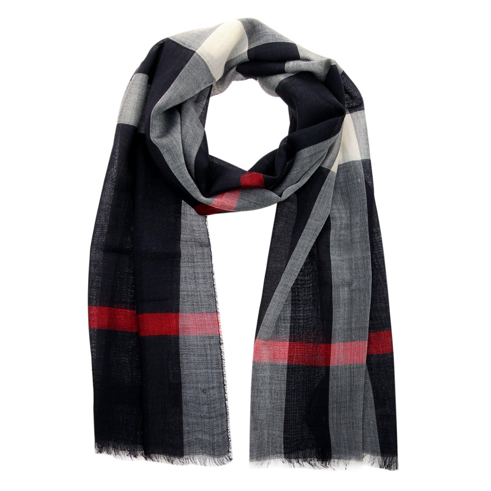 855a8a4a20a ... usa burberry scarf men scarves wool navy blue ref.71385 4e476 83e31