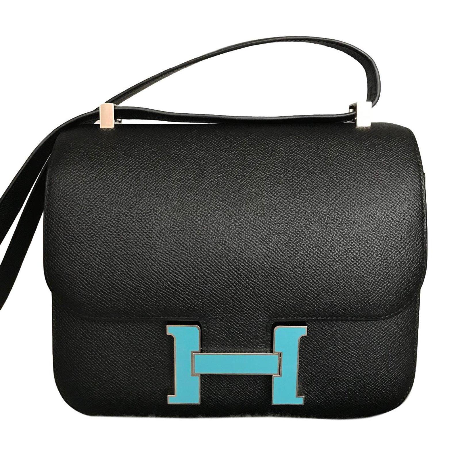 2a0b27ef5ee8 ... czech hermès constance 24 handbags leather black ref.71426 e17bd 5909e