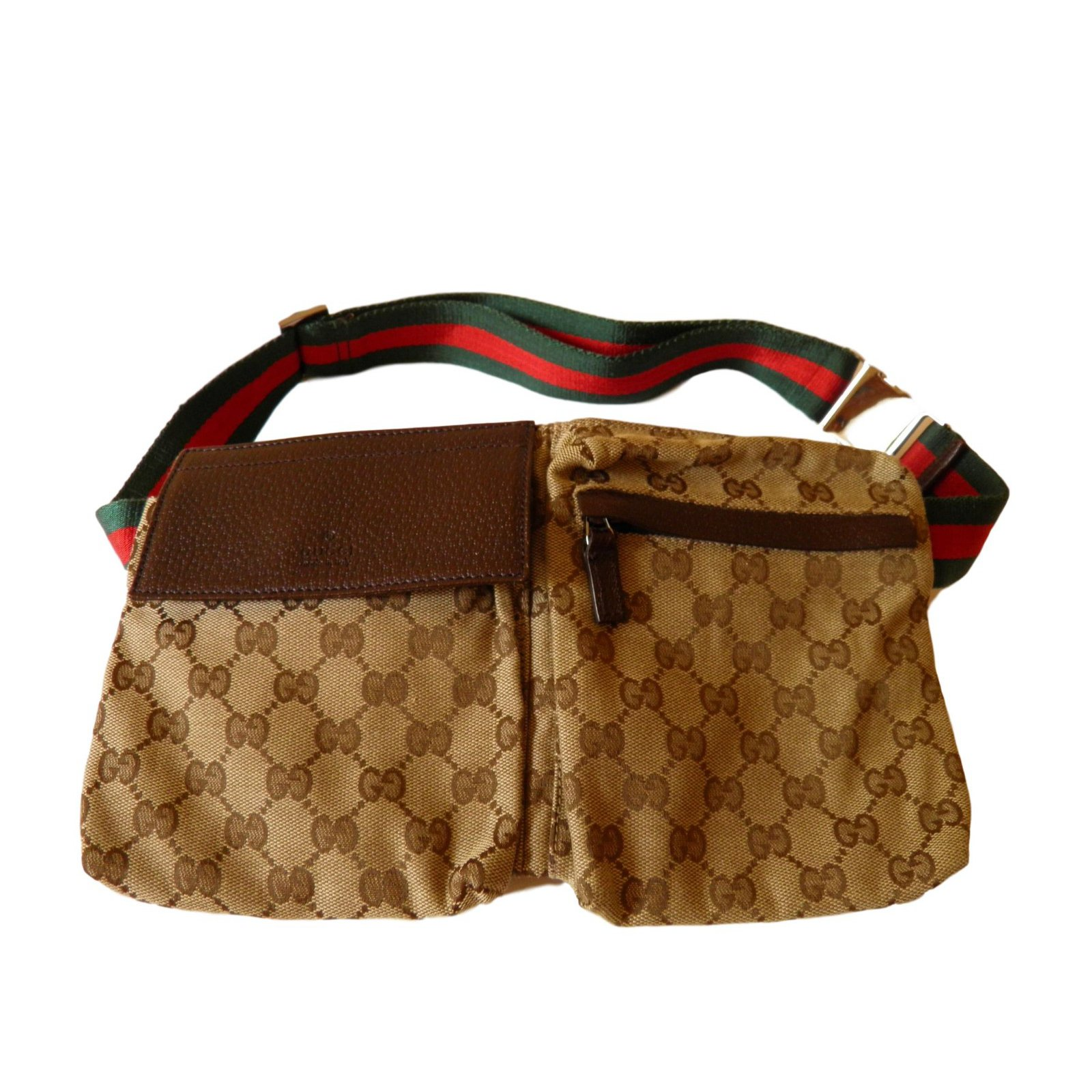 Gucci Belt bag Clutch bags Cloth Other ref.72004 - Joli Closet 255960c0f78
