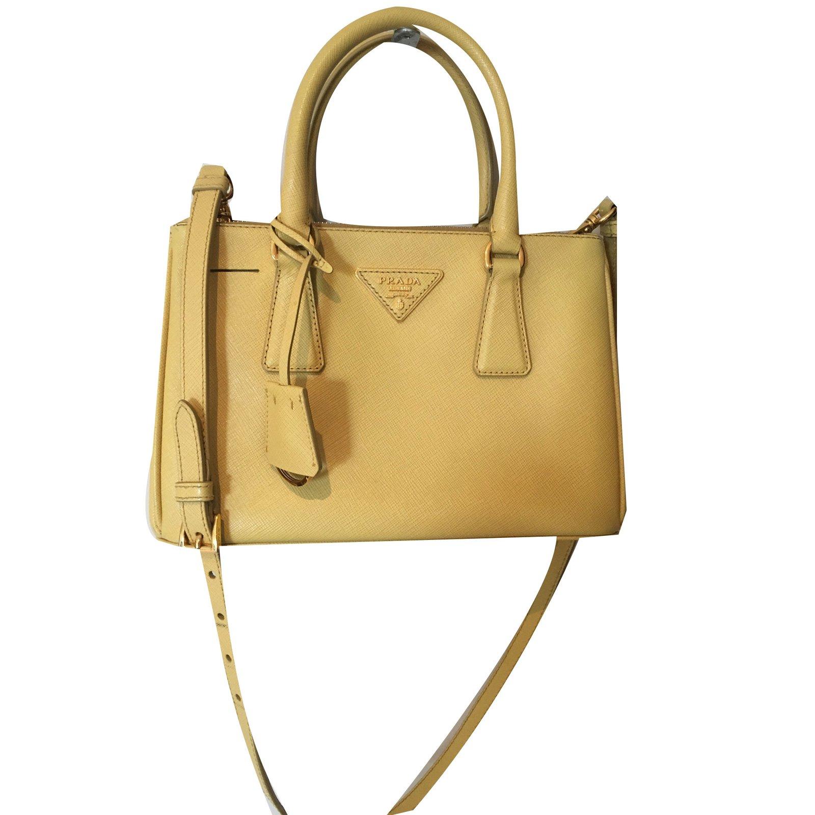 2f17d224bca ... bag astral blue sunny yellow 68eef 11356  aliexpress prada galleria  handbags leather yellow ref.72052 903a8 3a475