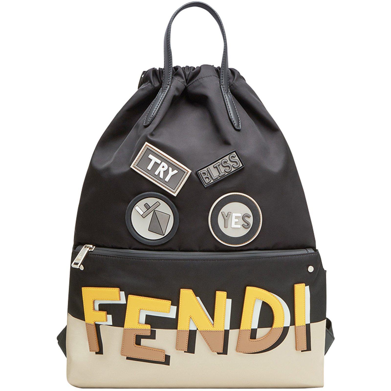 9bdf04ae181 Fendi Fendi backpack new Bags Briefcases nylon Black ref.72279 ...