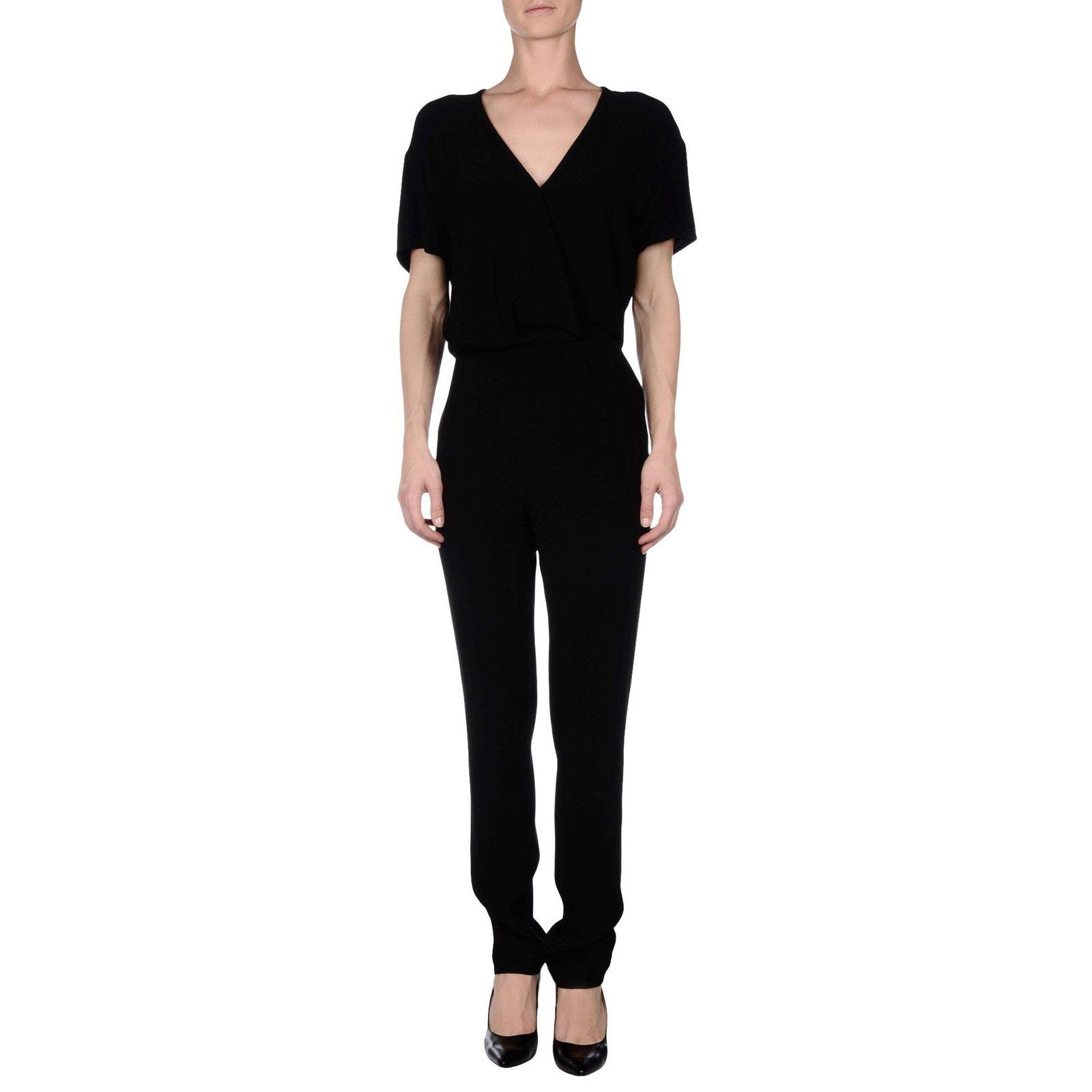 De otra manera Hacia Aplicado  American Vintage Jumpsuits Jumpsuits Viscose Black ref.72426 - Joli Closet