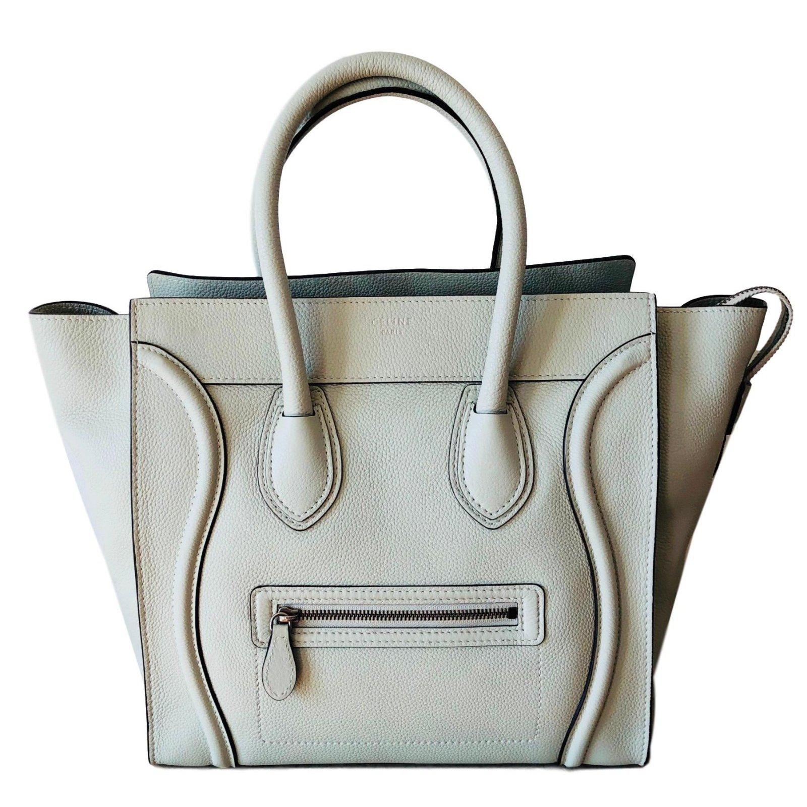 1eb7ebb25b53 Céline luggage mini handbags leather other ref joli closet jpg 1600x1600 Mini  celine