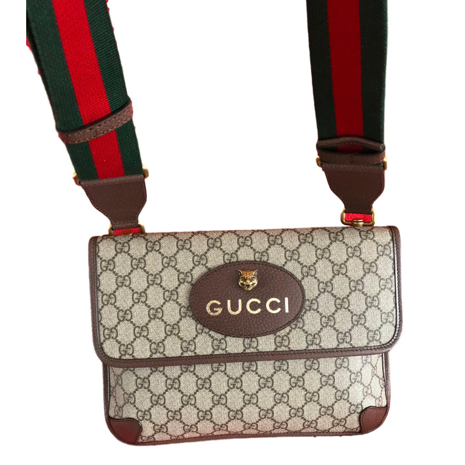 22fcdfd21 Gucci GG Supreme messenger bag -Style ?495654 Bags Briefcases Cloth  Multiple colors ref.