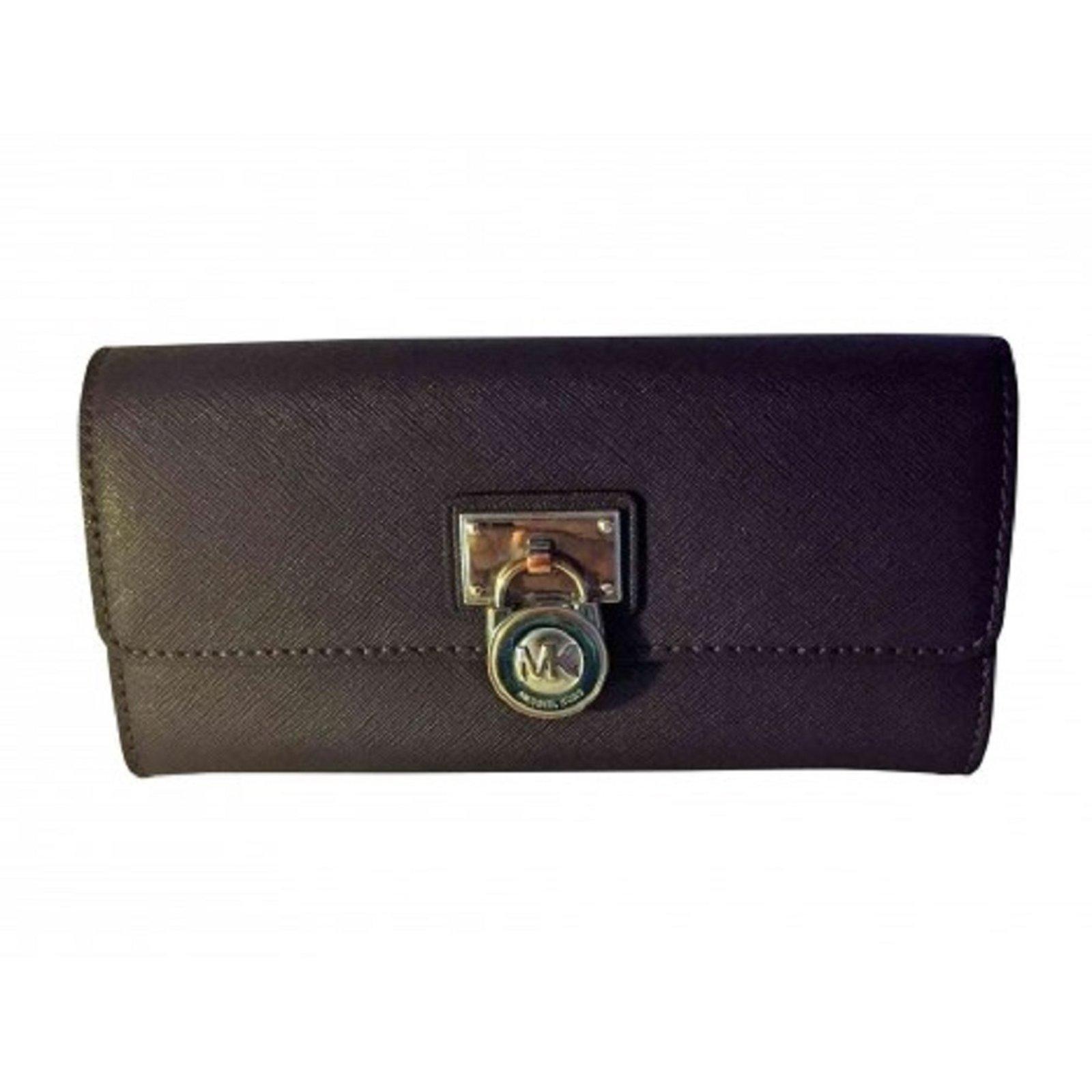 a5a7c2f54266 Michael Kors wallets Wallets Leather Purple ref.73464 - Joli Closet