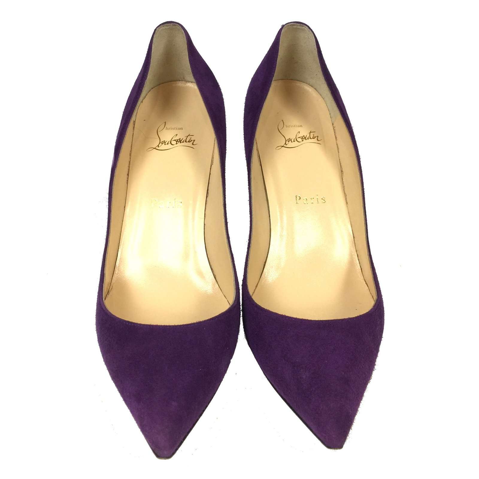 buy popular cb0ee 0fdc5 Apostrophy 85 Purple Suede Shoes